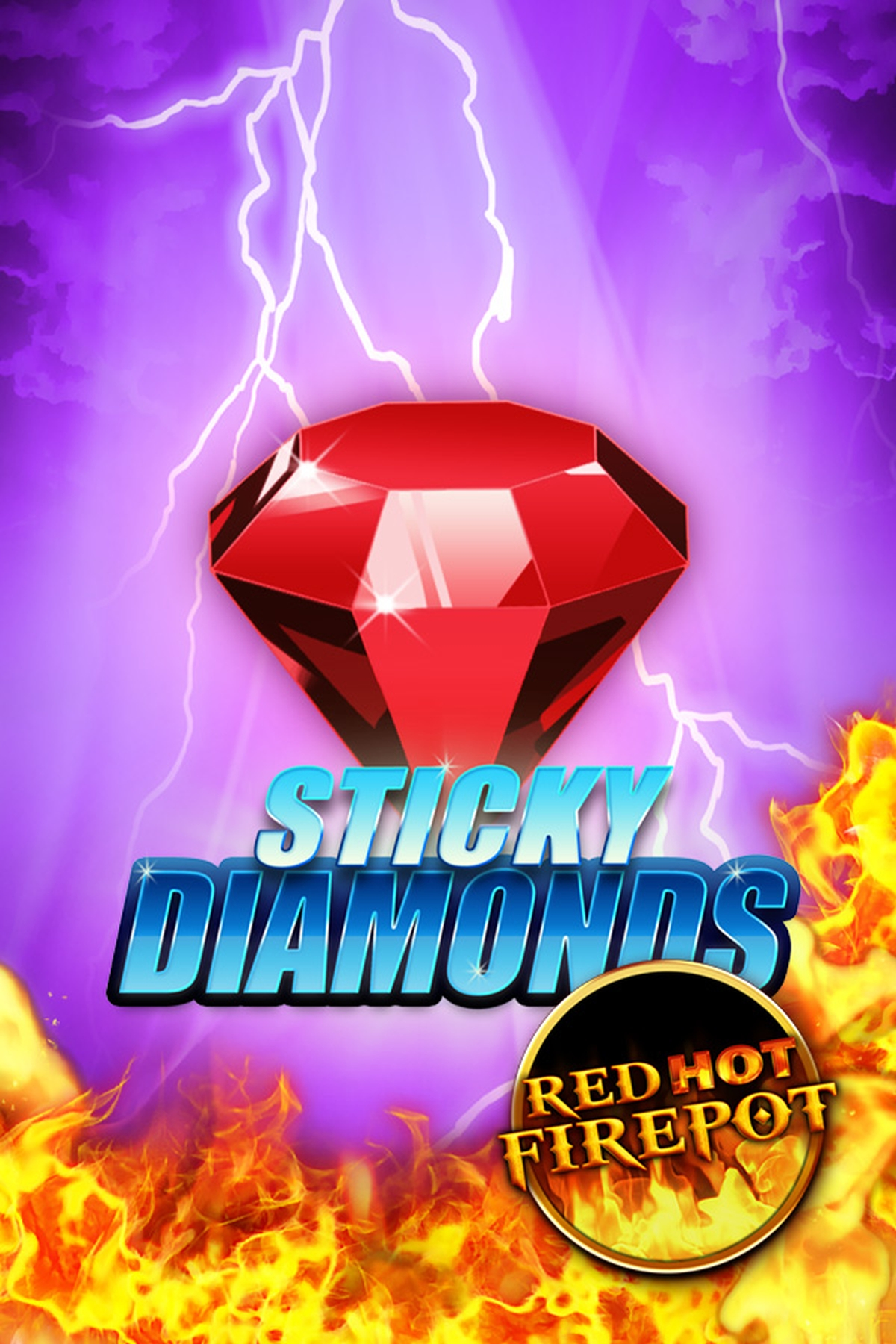 The Sticky Diamonds RHFP Online Slot Demo Game by Gamomat