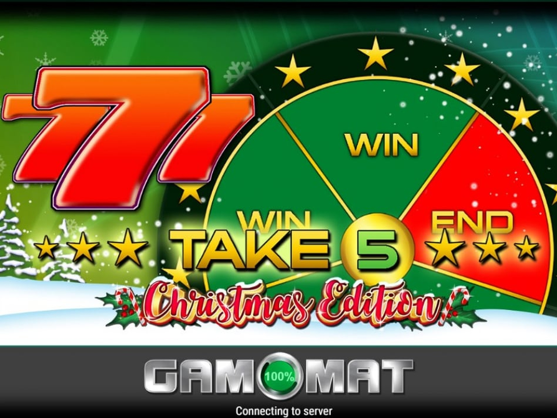 The Take 5 Christmas Edition Online Slot Demo Game by Gamomat