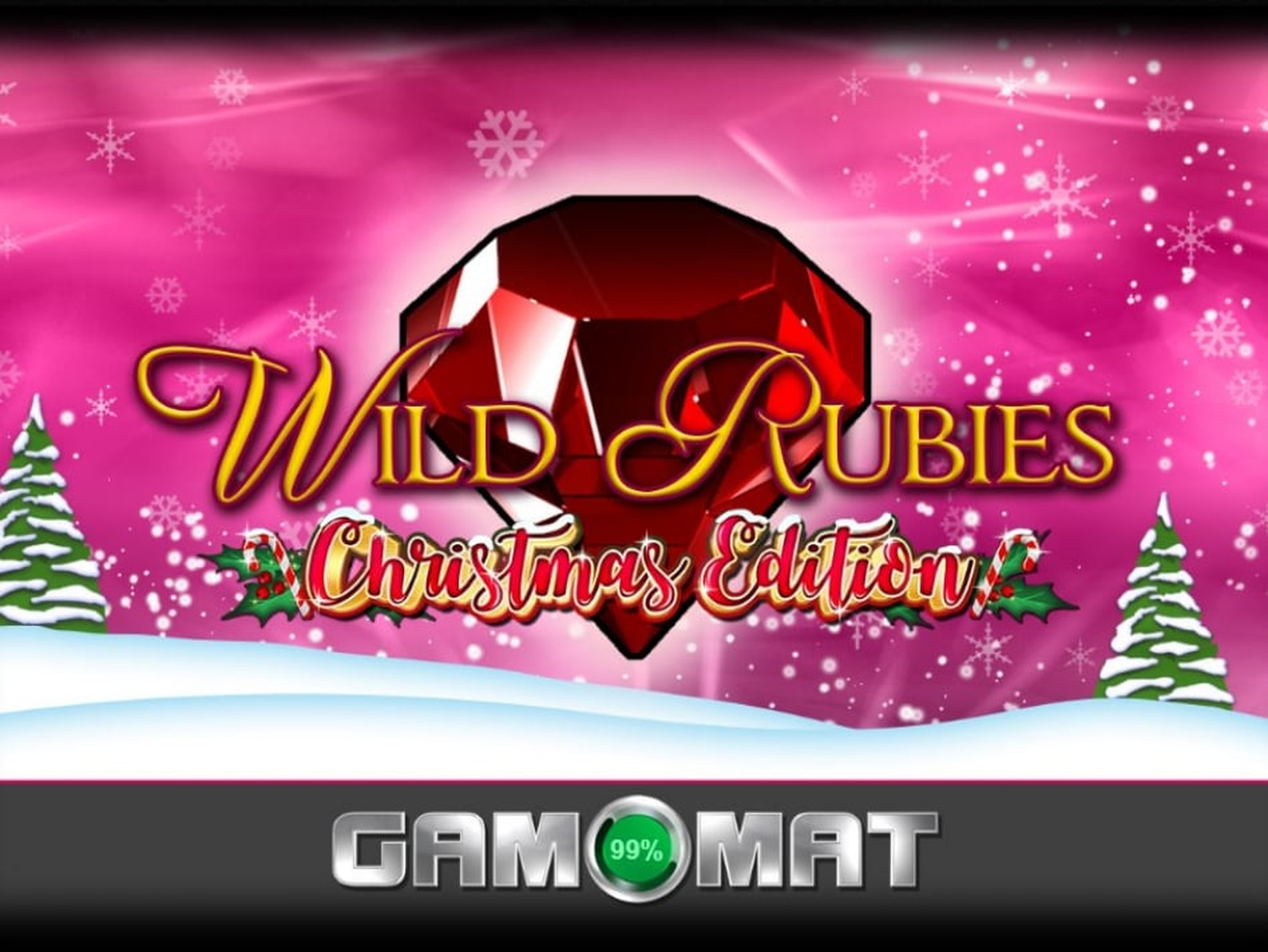 The Wild Rubies Christmas Edition Online Slot Demo Game by Gamomat