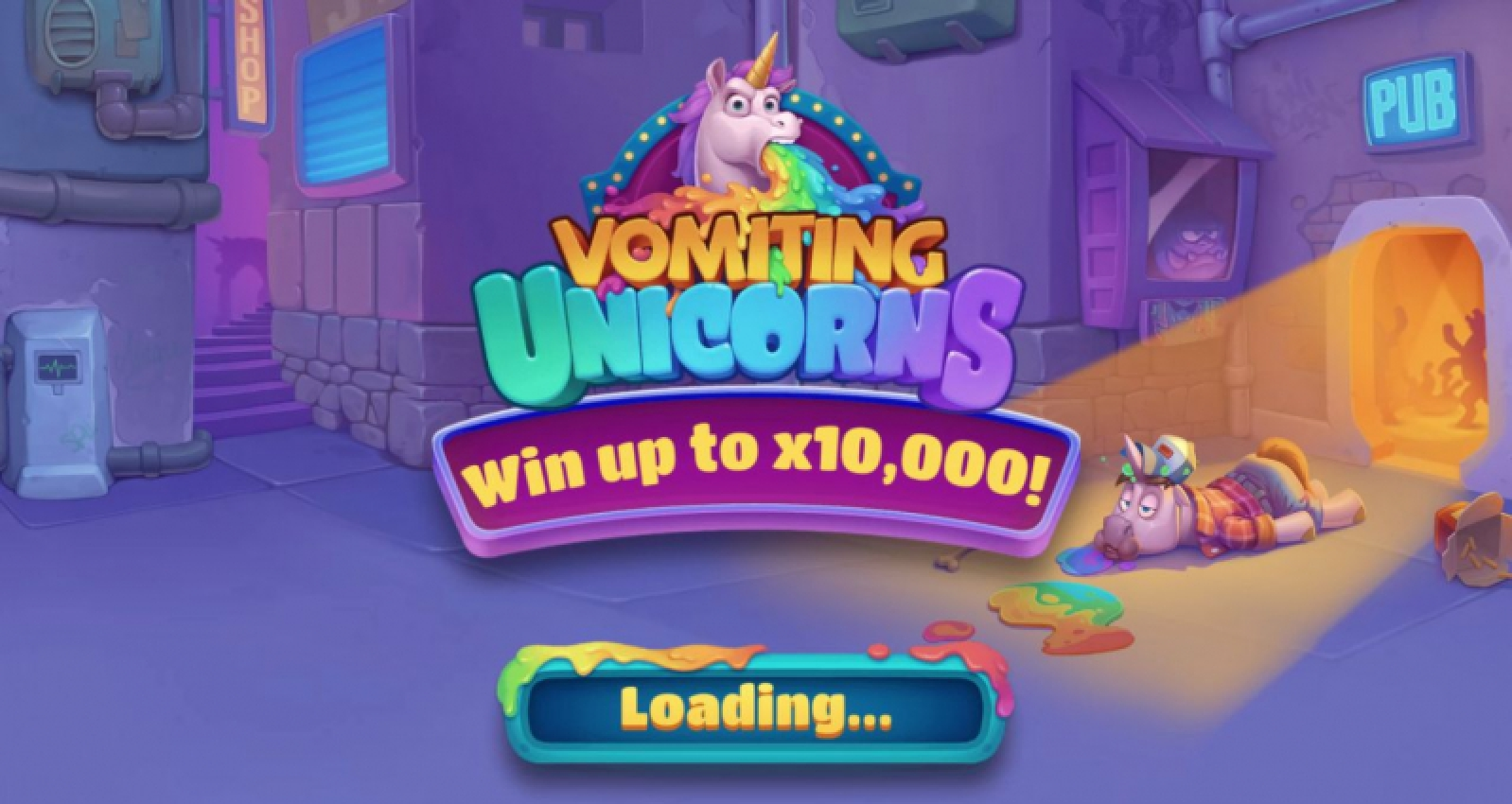 The Vomiting Unicorns Online Slot Demo Game by Gluck Games