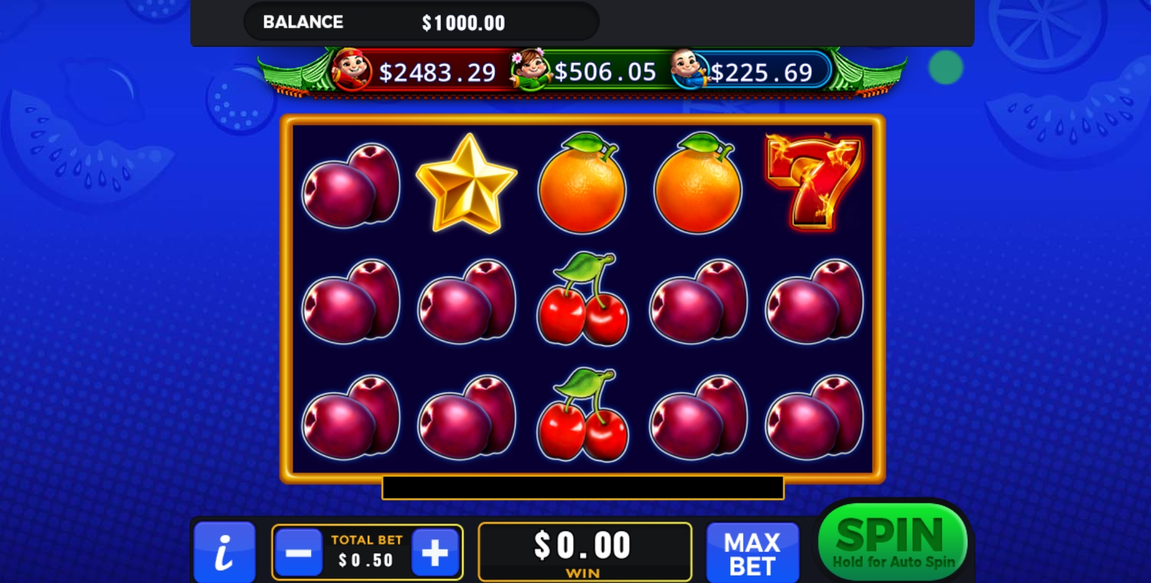 Reels in Ravin' Hot Slot Game by GMW