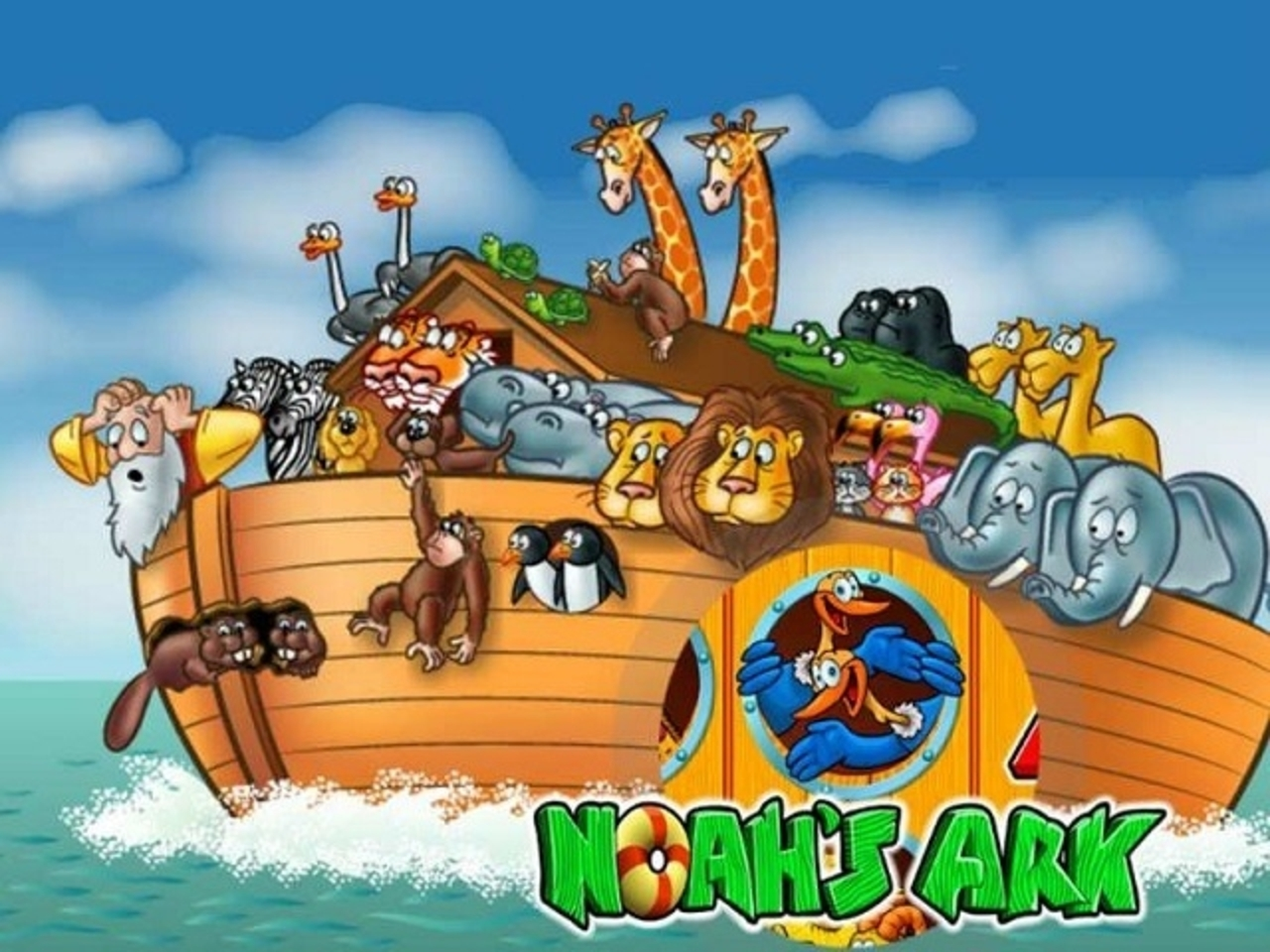 The Noah's Ark Online Slot Demo Game by IGT