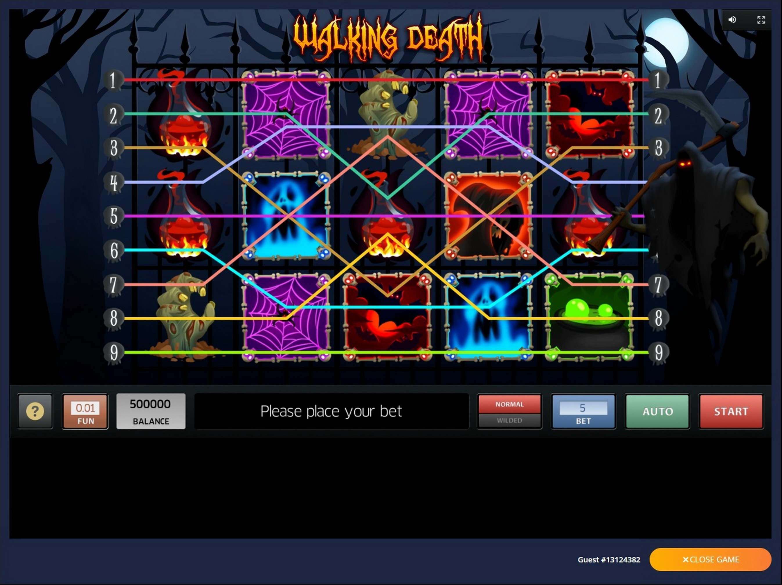 Play Walking Death Free Casino Slot Game by InBet Games