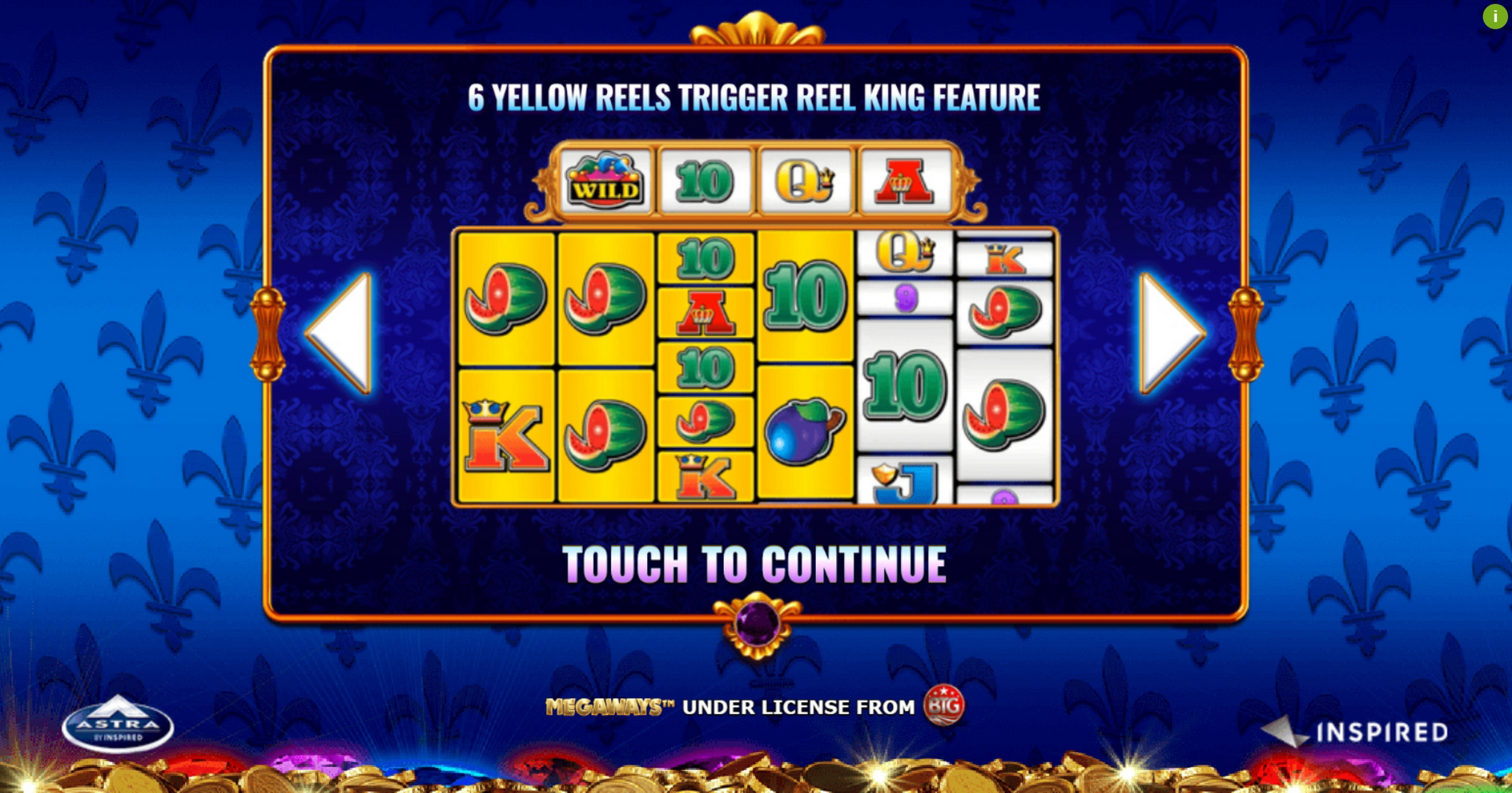 Play Reel King Megaways Free Casino Slot Game by Inspired Gaming