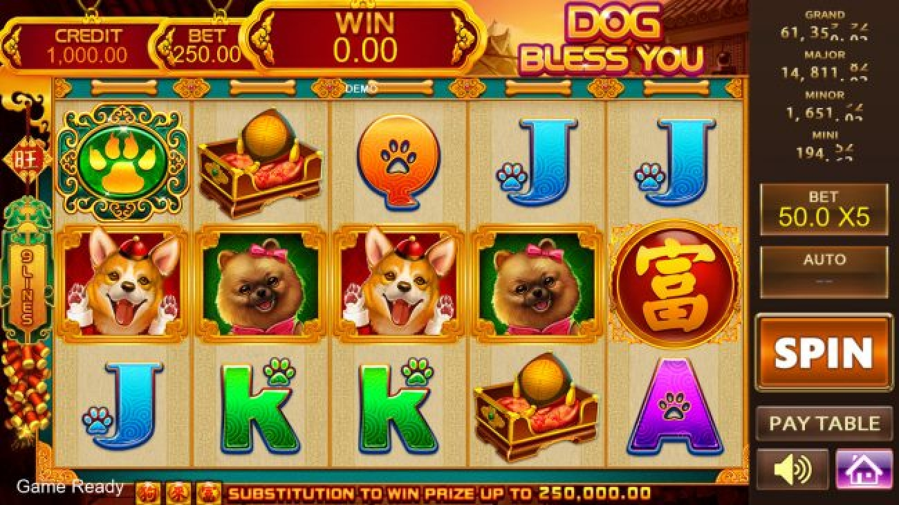 The Fortune Bull Online Slot Demo Game by PlayStar