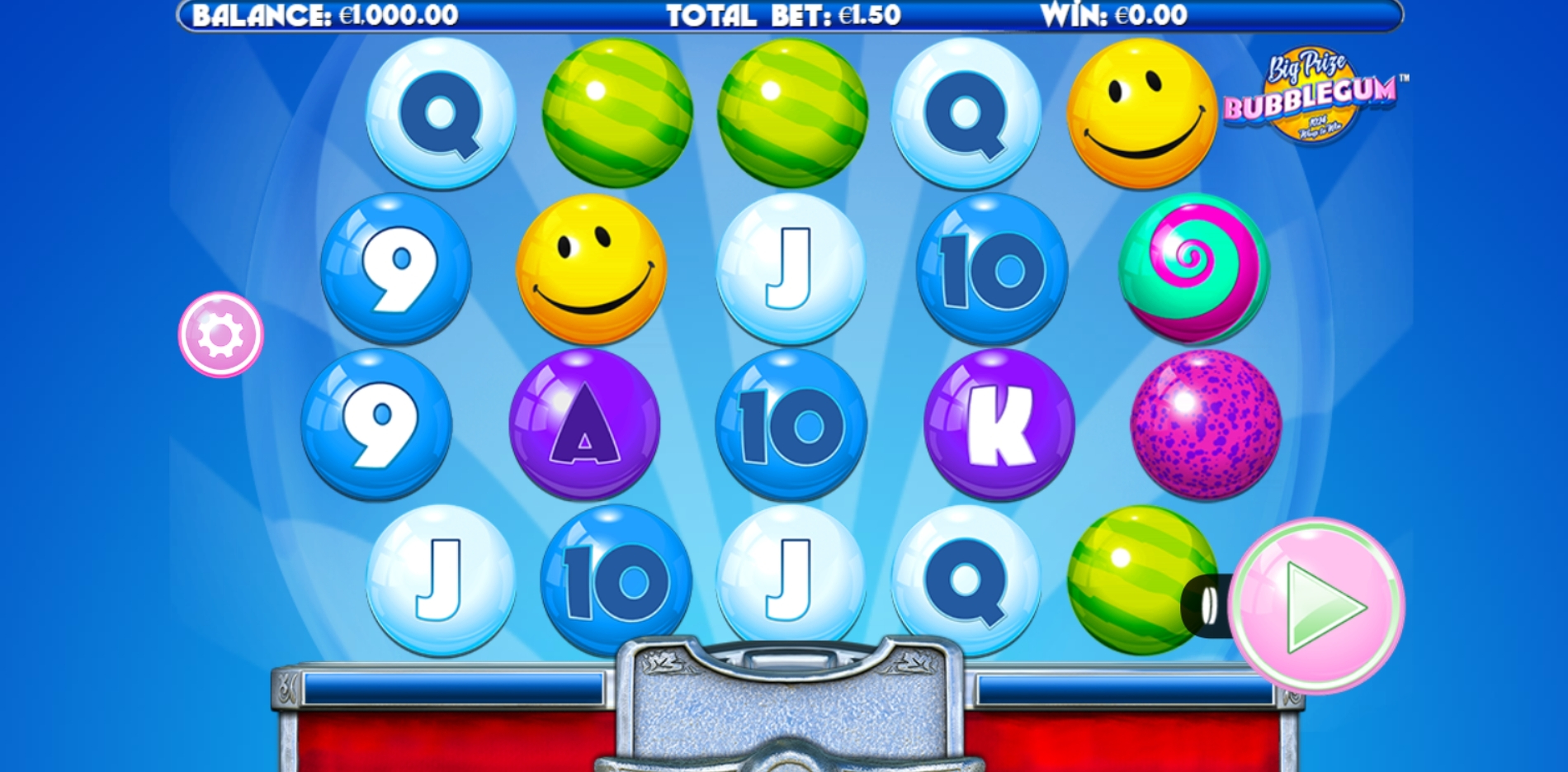 Reels in Big Prize Bubblegum Slot Game by Incredible Technologies