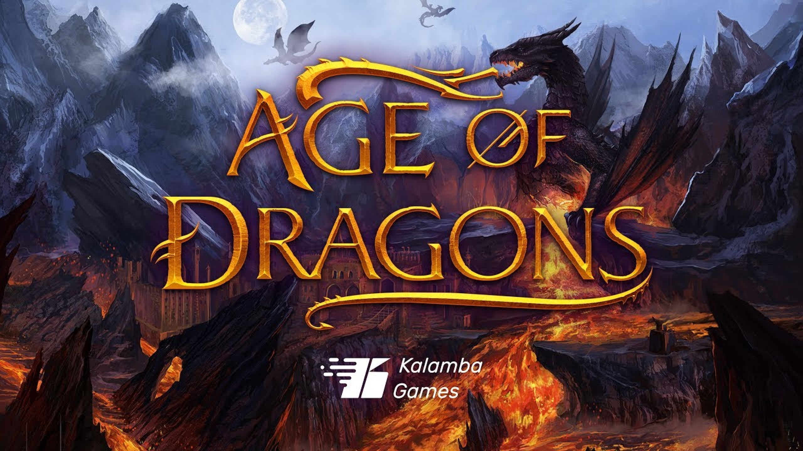 The Age of Ice Dragons Online Slot Demo Game by Kalamba Games