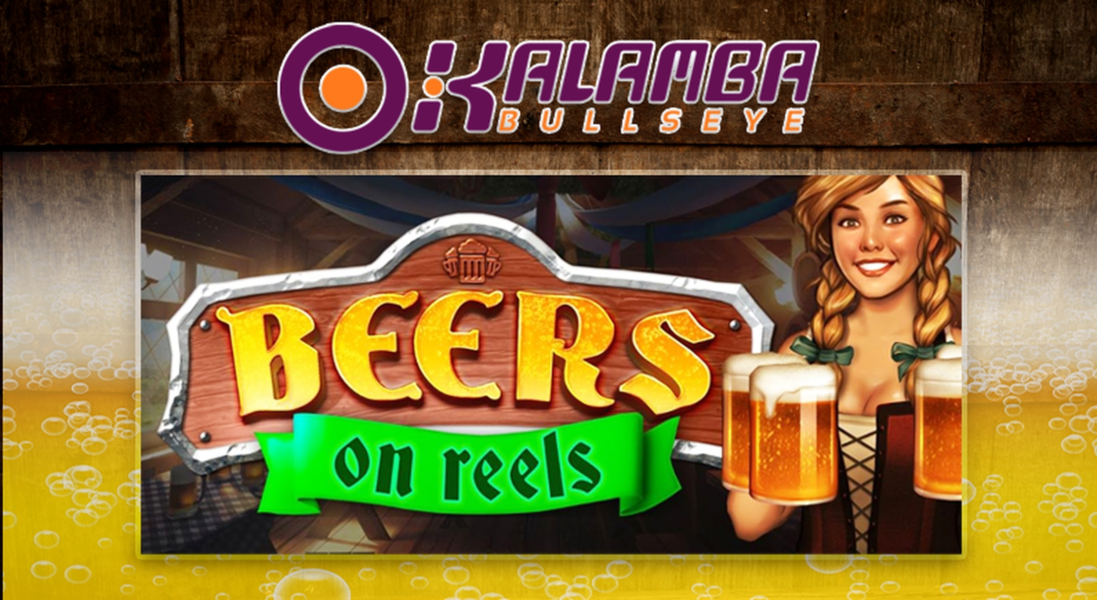 Reels in Beers on Reels Slot Game by Kalamba Games