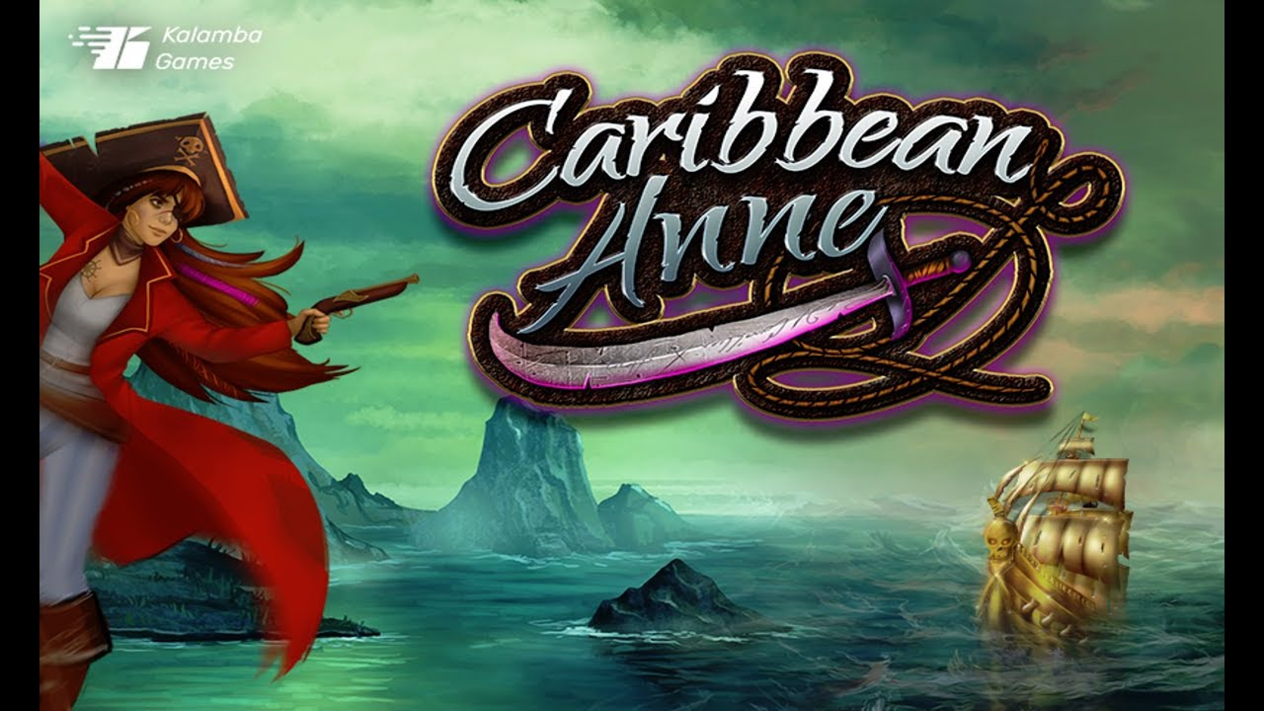 The Caribbean Anne Online Slot Demo Game by Kalamba Games