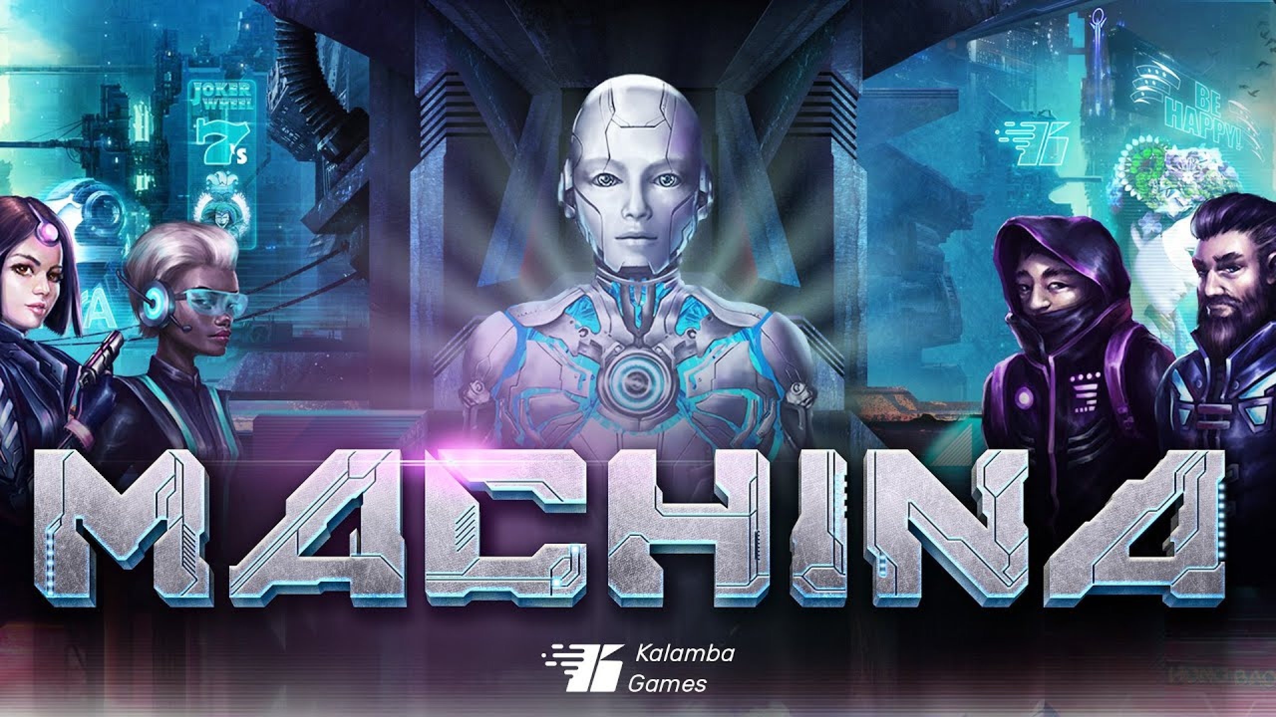 The Machina Online Slot Demo Game by Kalamba Games