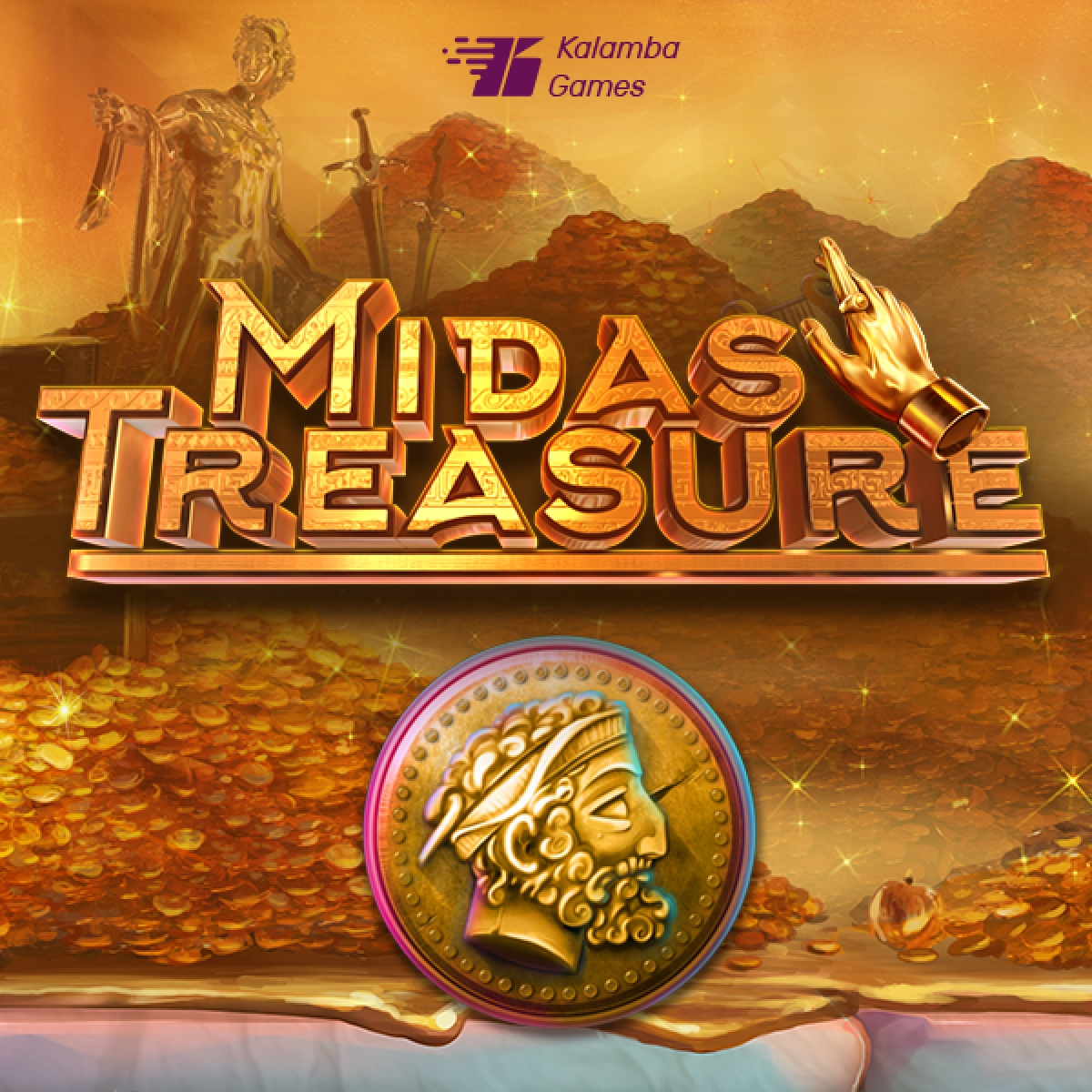 The Midas Treasure Online Slot Demo Game by Kalamba Games