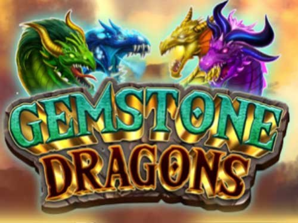 The Gemstone Dragons Online Slot Demo Game by Leander Games