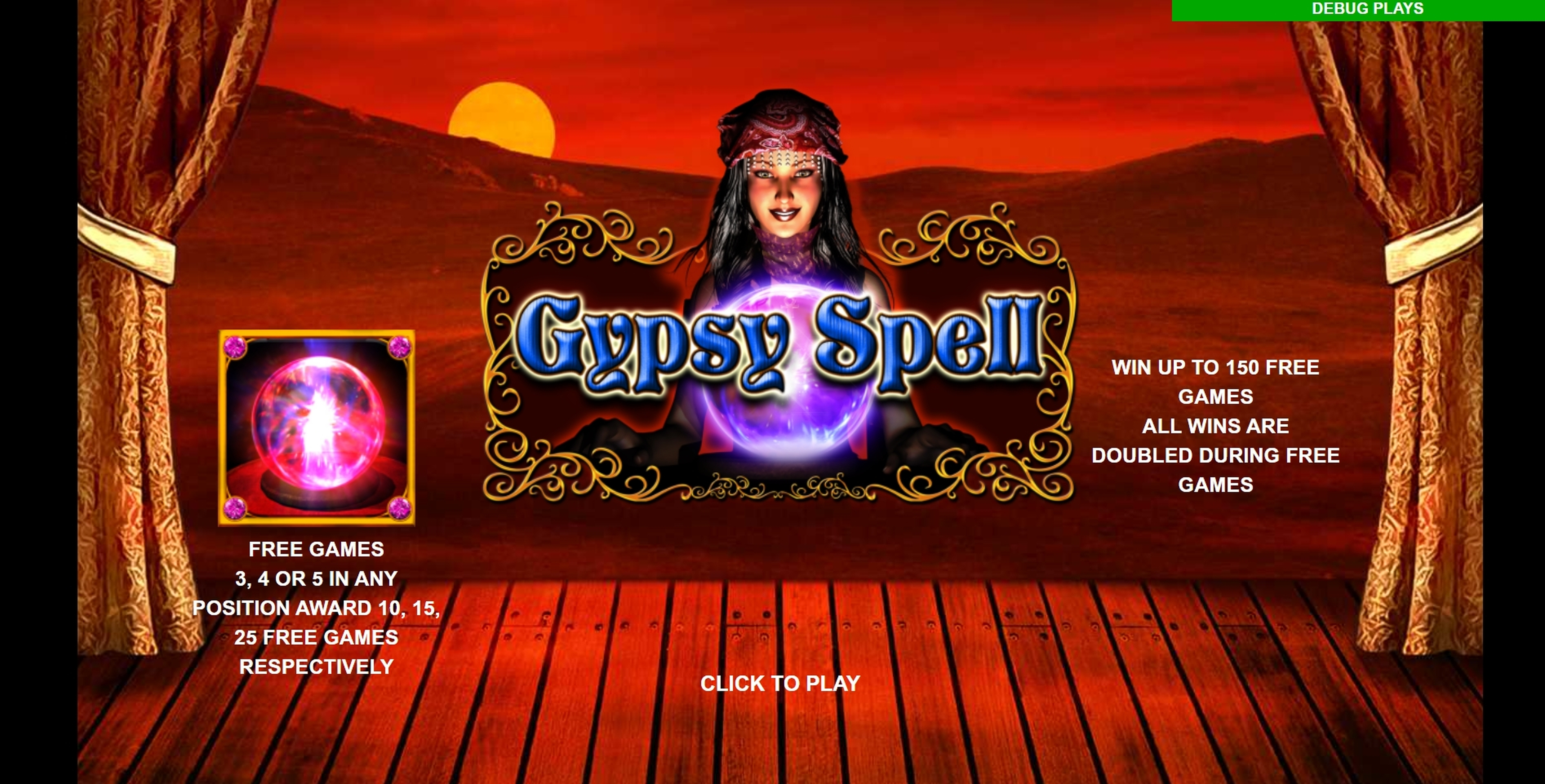 Play Gypsy Spell Free Casino Slot Game by Leander Games