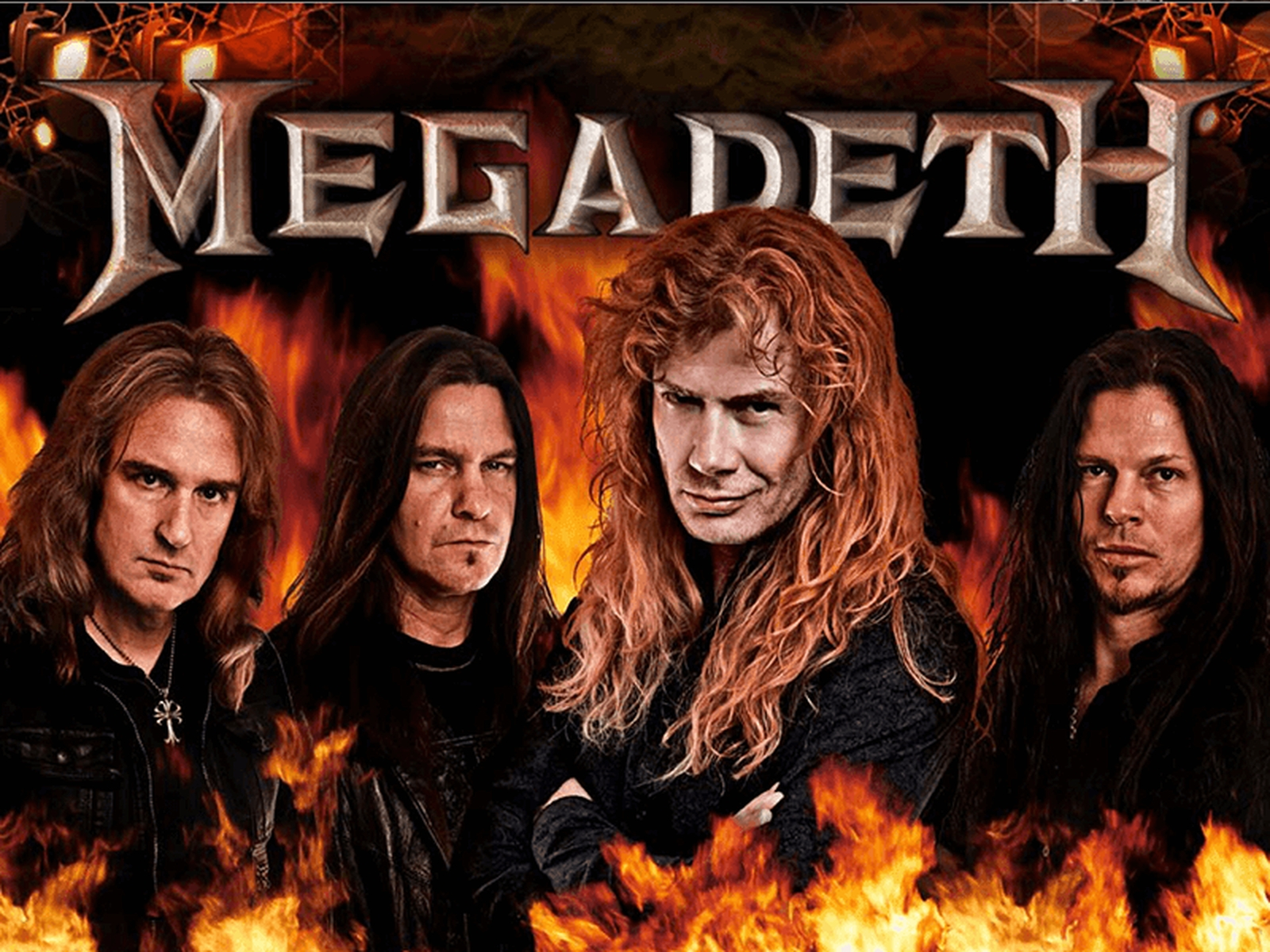 The Megadeth Online Slot Demo Game by Leander Games