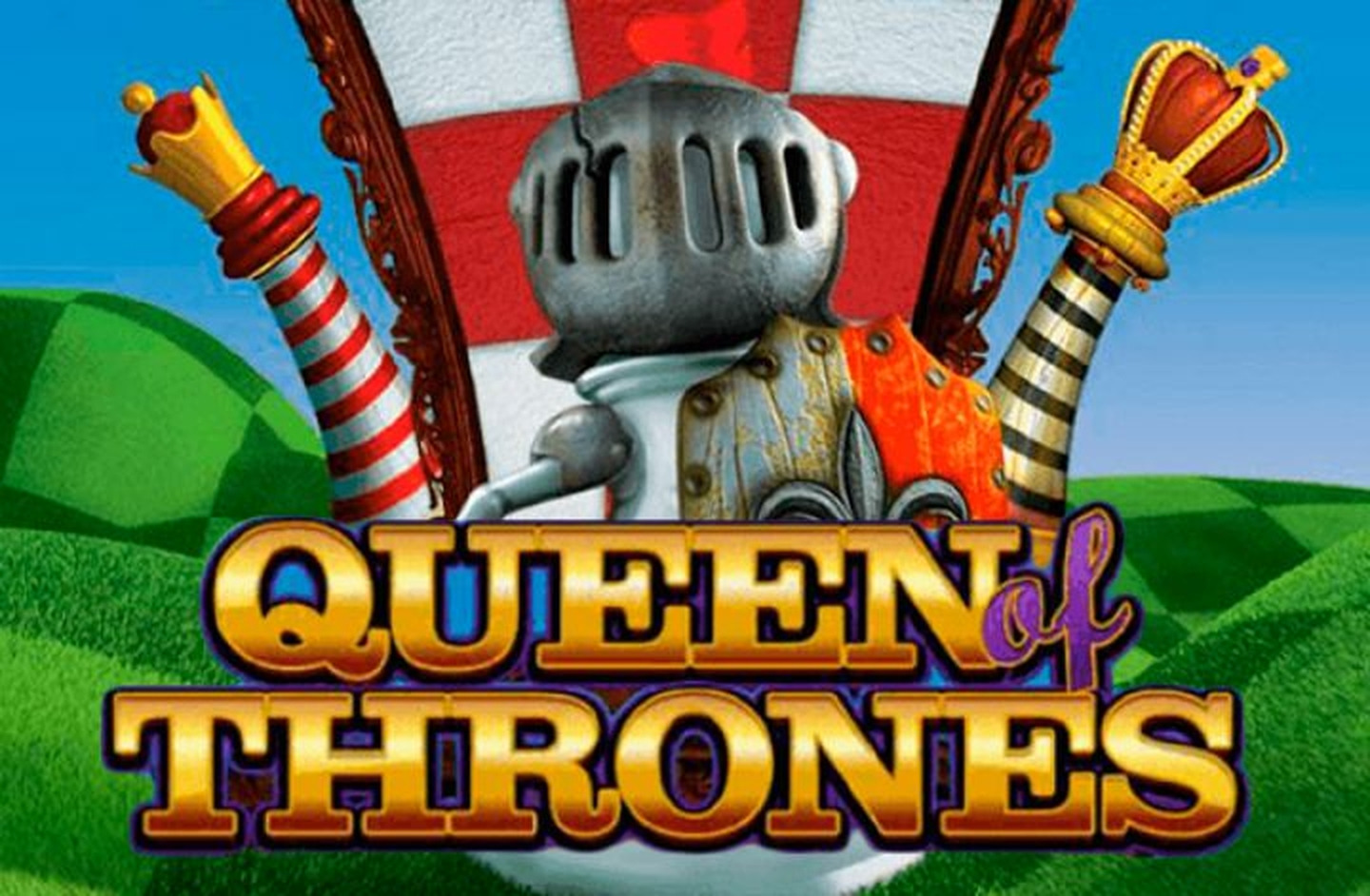 The Queen of Thrones Online Slot Demo Game by Leander Games
