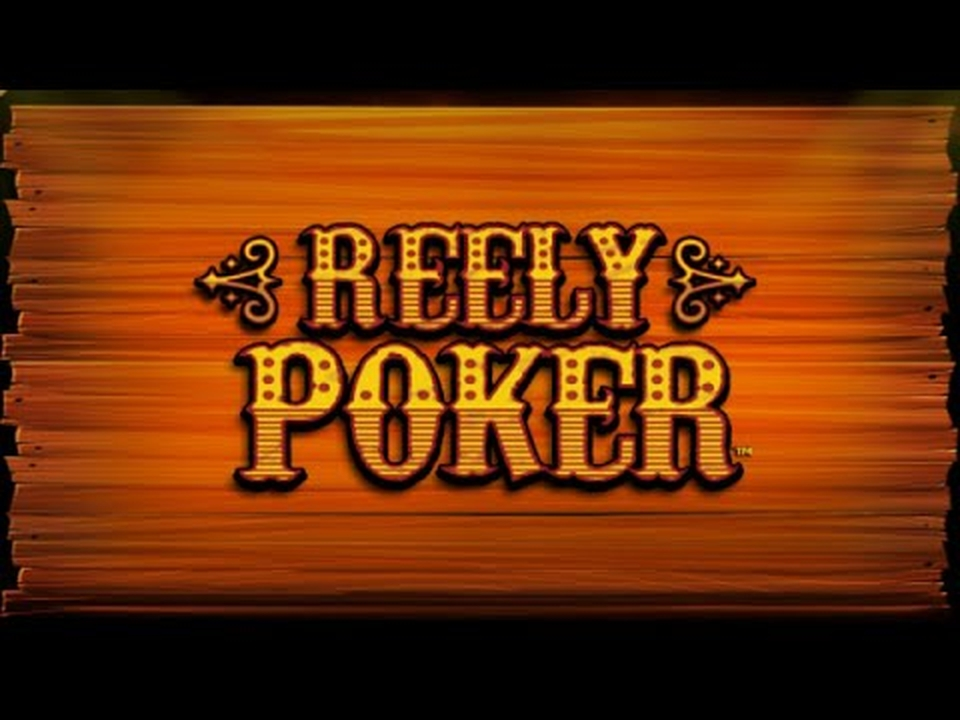 Reels in Reely Poker Slot Game by Leander Games
