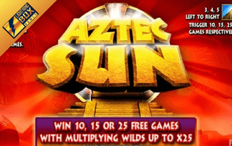 The Aztec Sun (Lightning Box) Online Slot Demo Game by Lightning Box