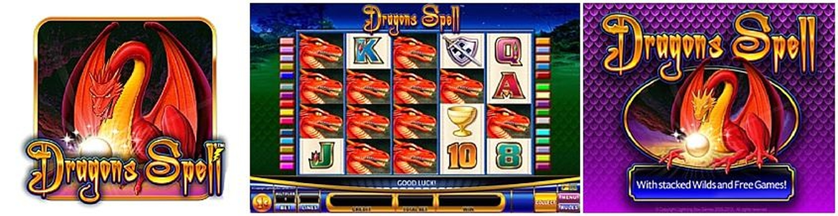 The Dragons Spell Online Slot Demo Game by Lightning Box