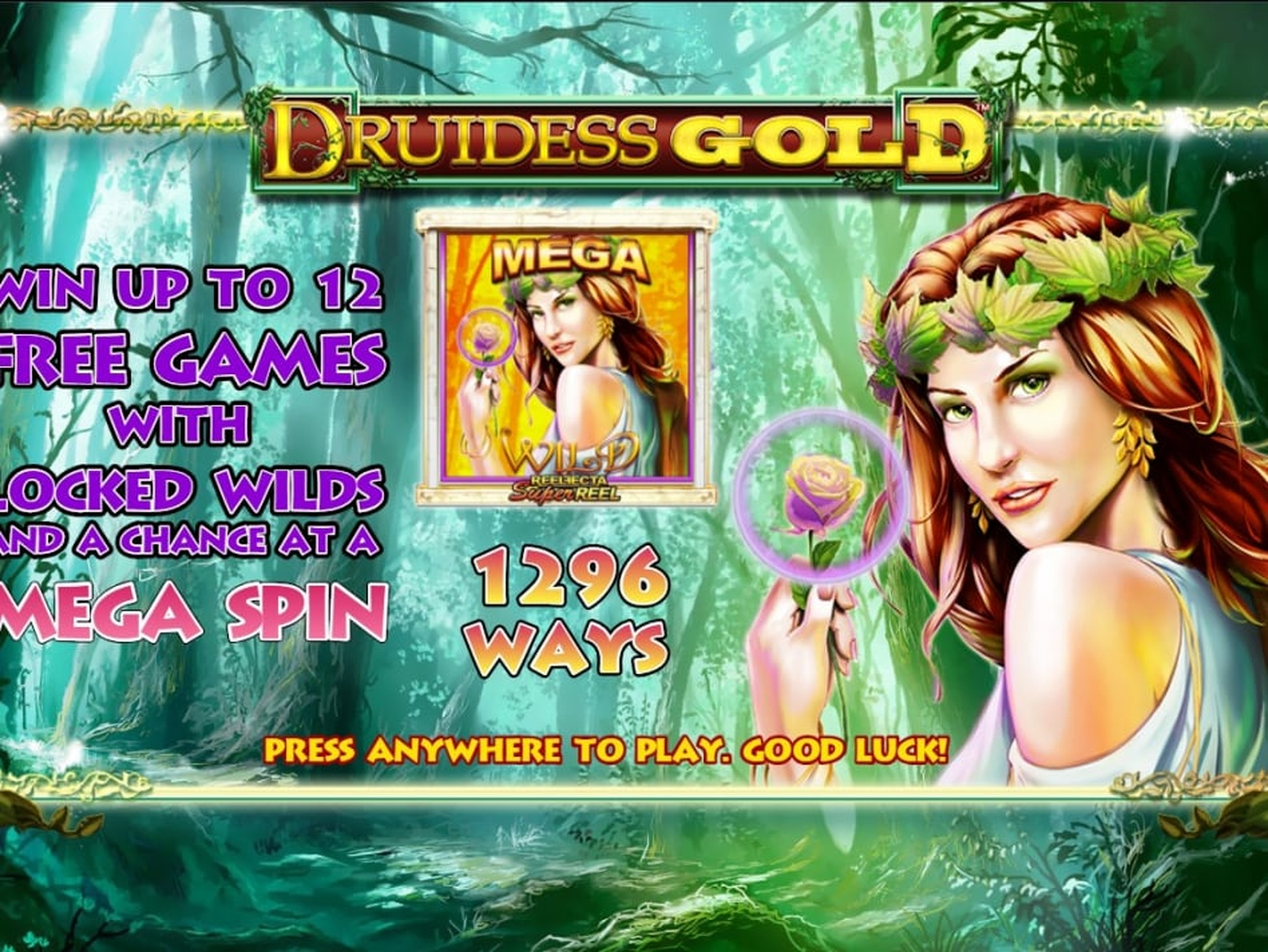 The Druidess Gold Online Slot Demo Game by Lightning Box