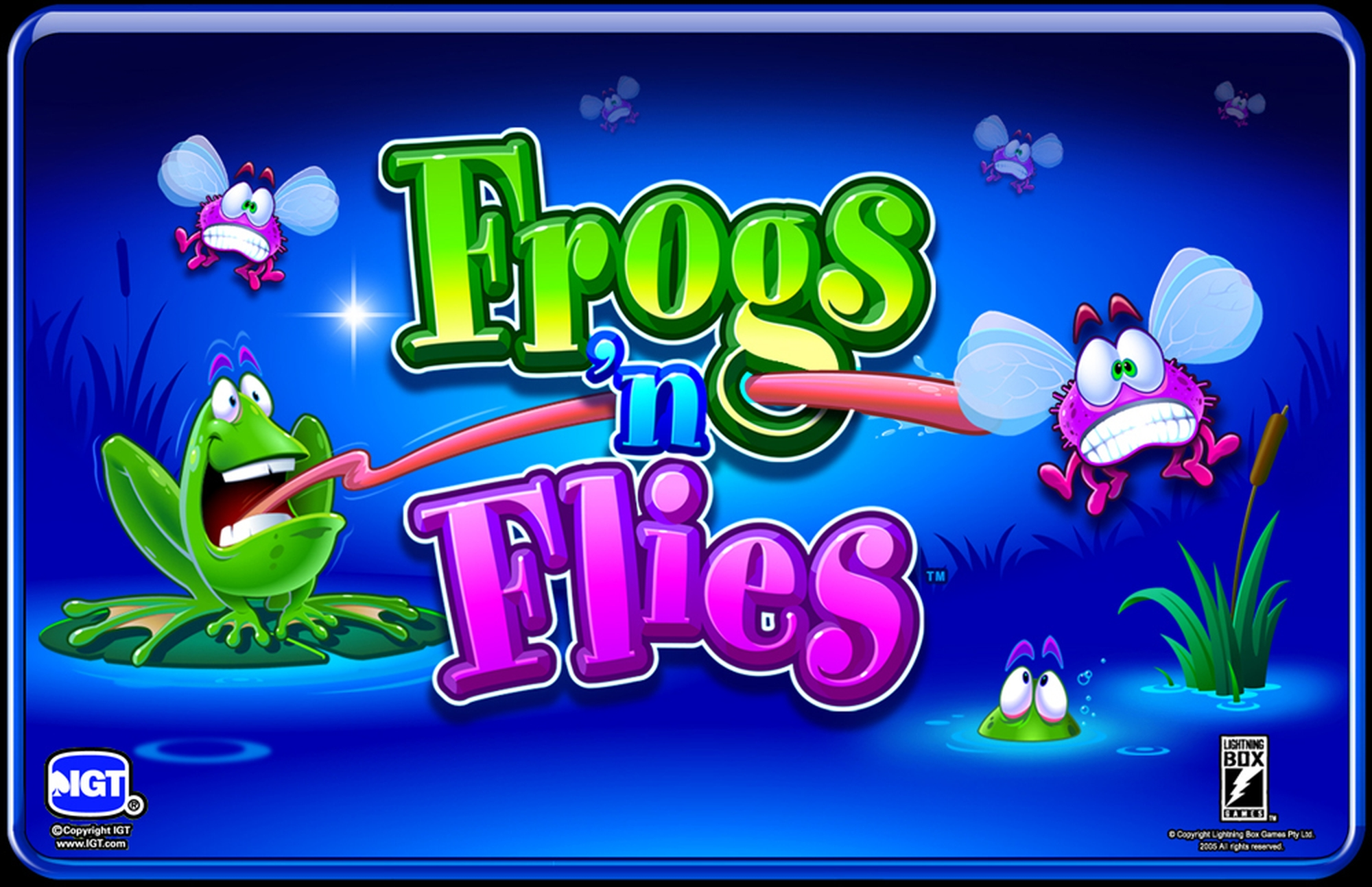 The Frogs 'n Flies Online Slot Demo Game by Lightning Box