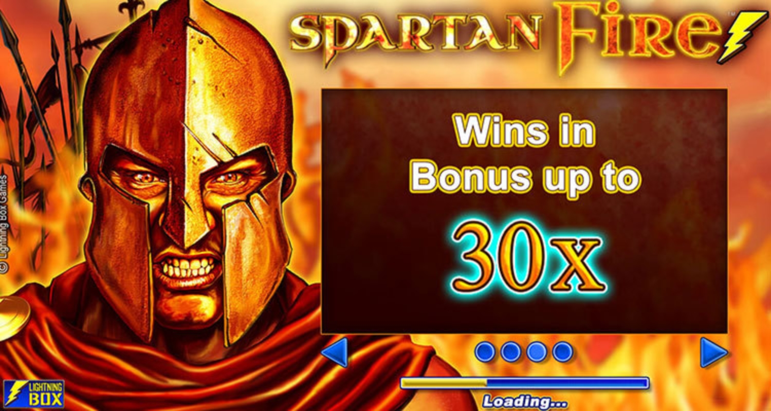 The Spartan Fire Online Slot Demo Game by Lightning Box