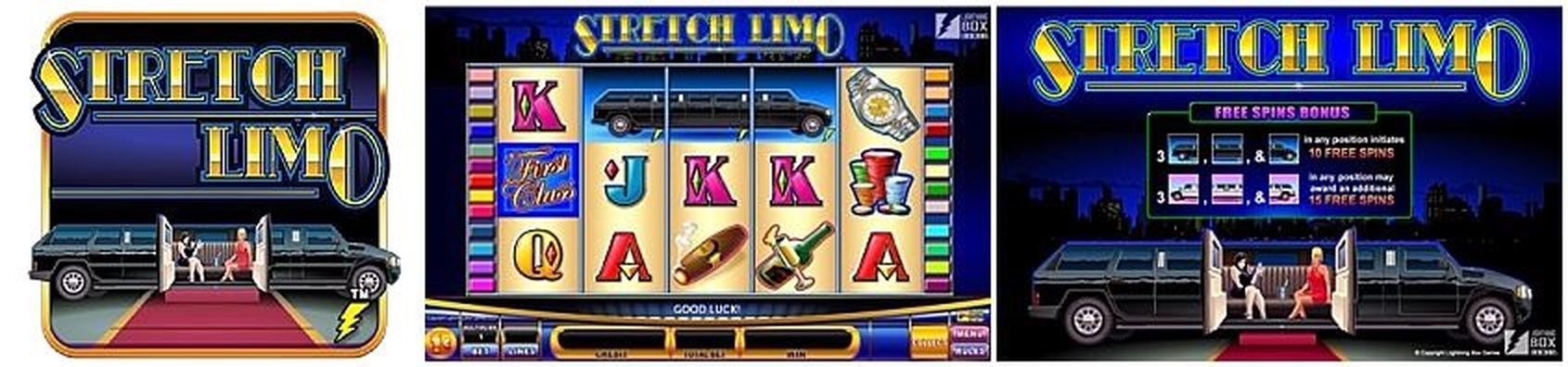 The Stretch Limo Online Slot Demo Game by Lightning Box