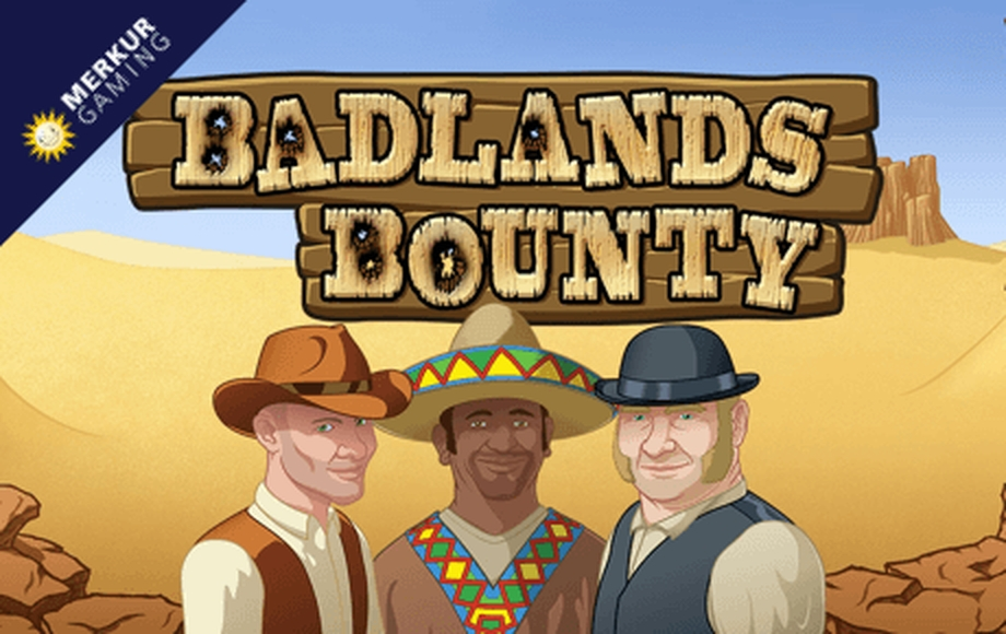 The Badlands Bounty Online Slot Demo Game by Merkur Gaming