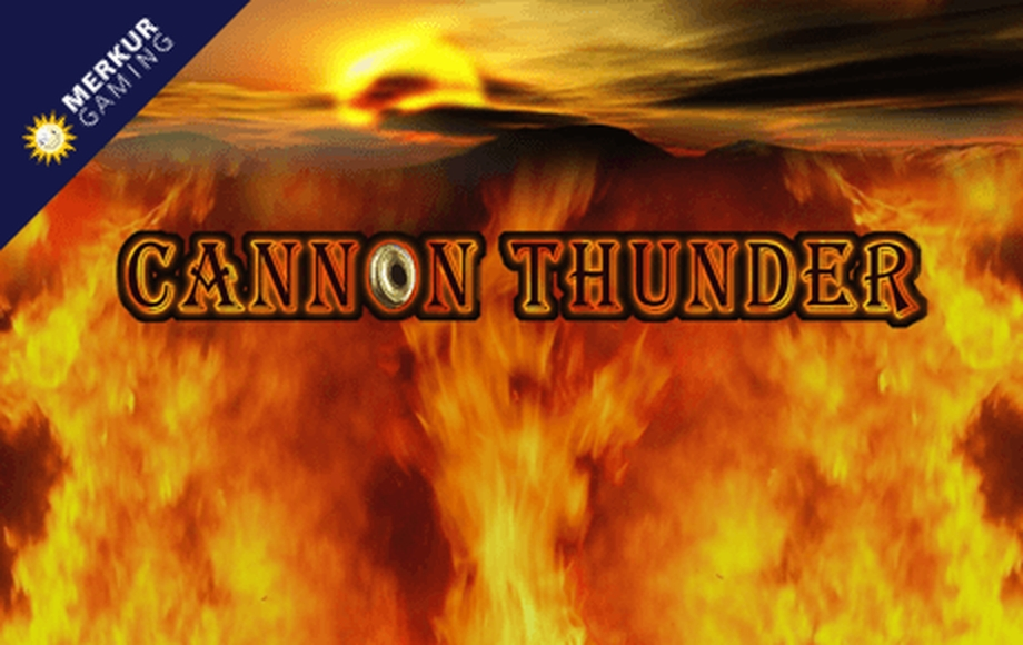 The Cannon Thunder Online Slot Demo Game by Merkur Gaming