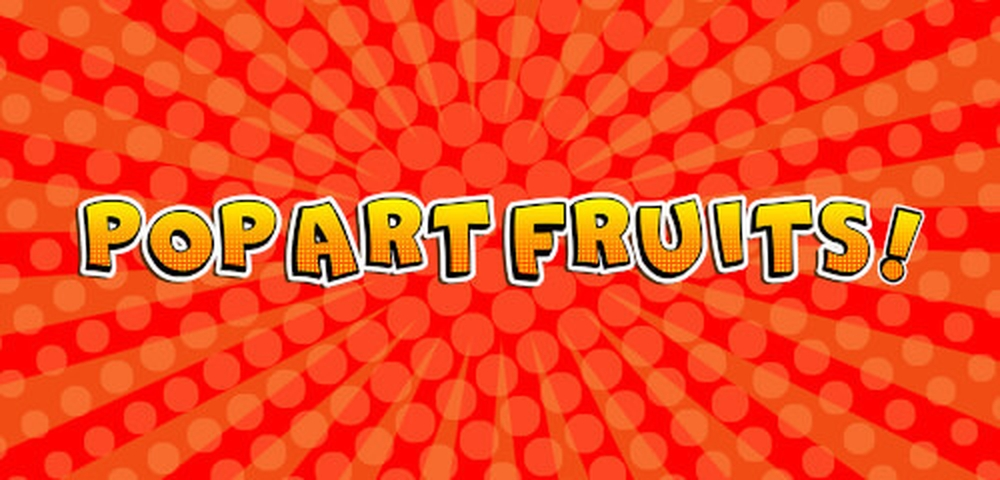 The Pop Art Fruits Online Slot Demo Game by Merkur Gaming