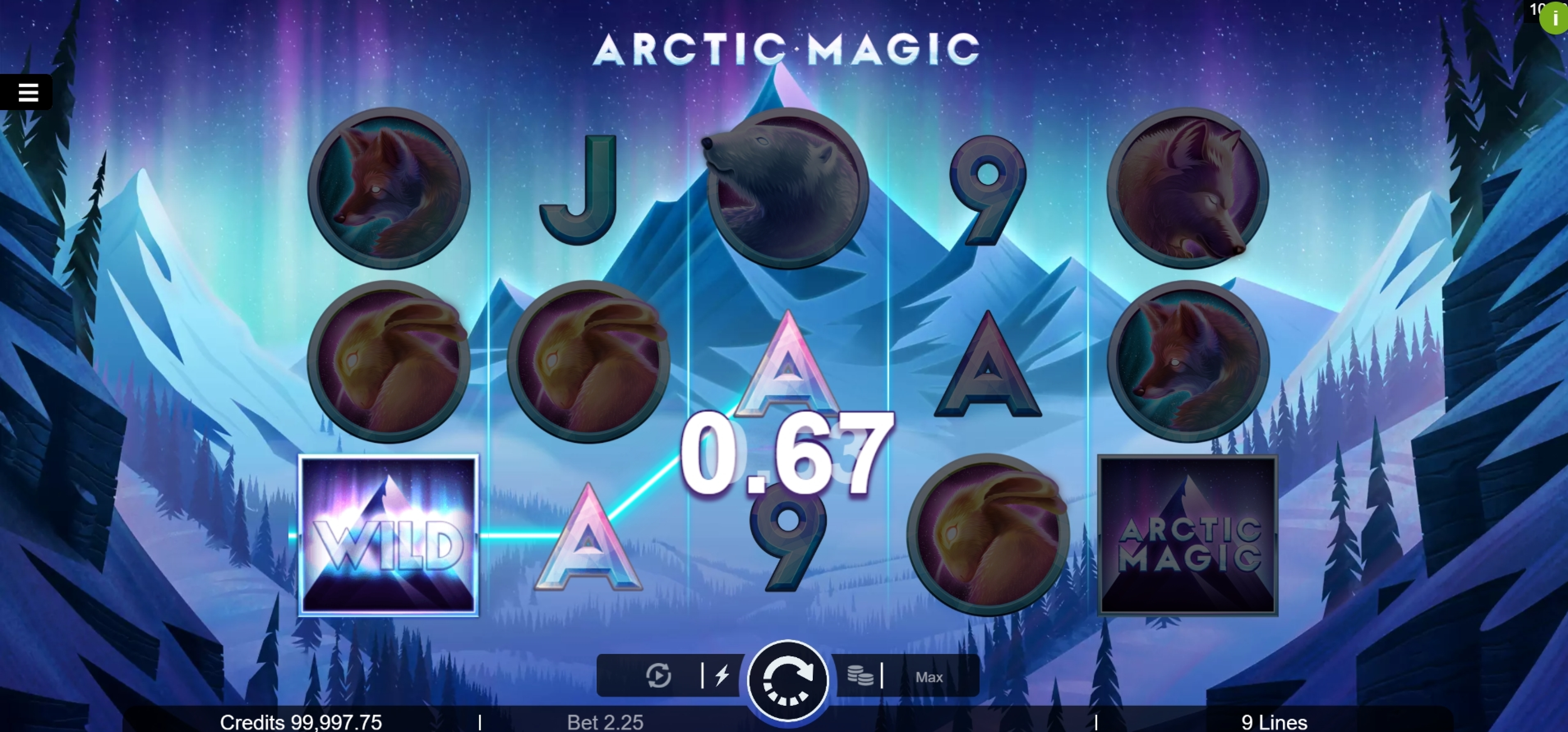 Win Money in Arctic Magic Free Slot Game by Microgaming