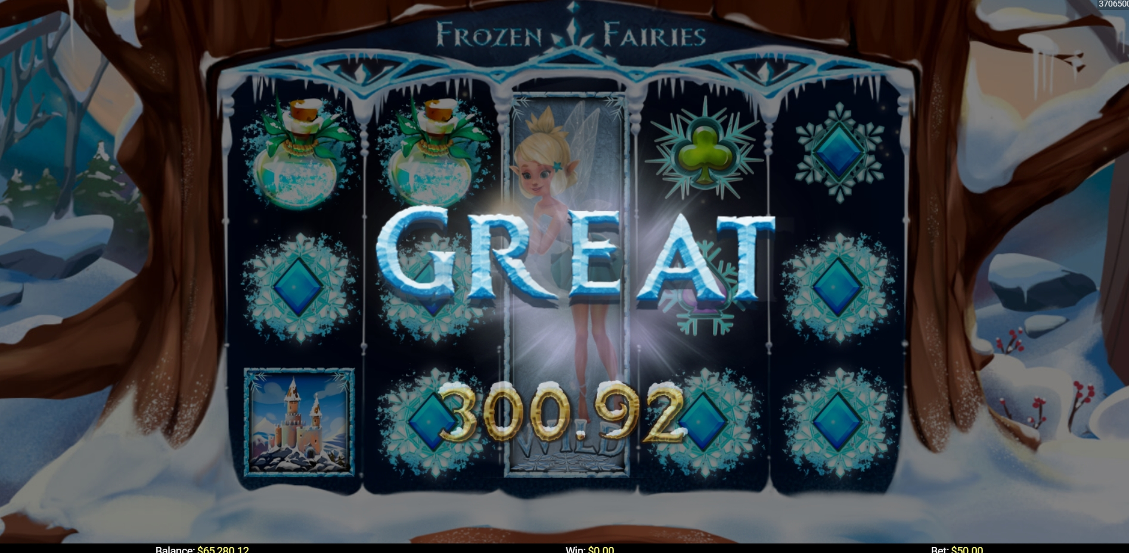 Win Money in Frozen Fairies Free Slot Game by Mobilots