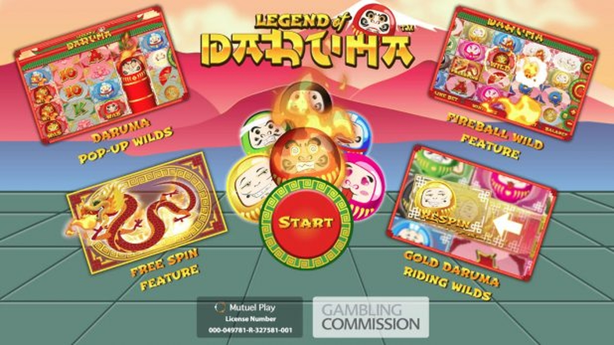 The Legend of Daruma Online Slot Demo Game by Mutuel Play