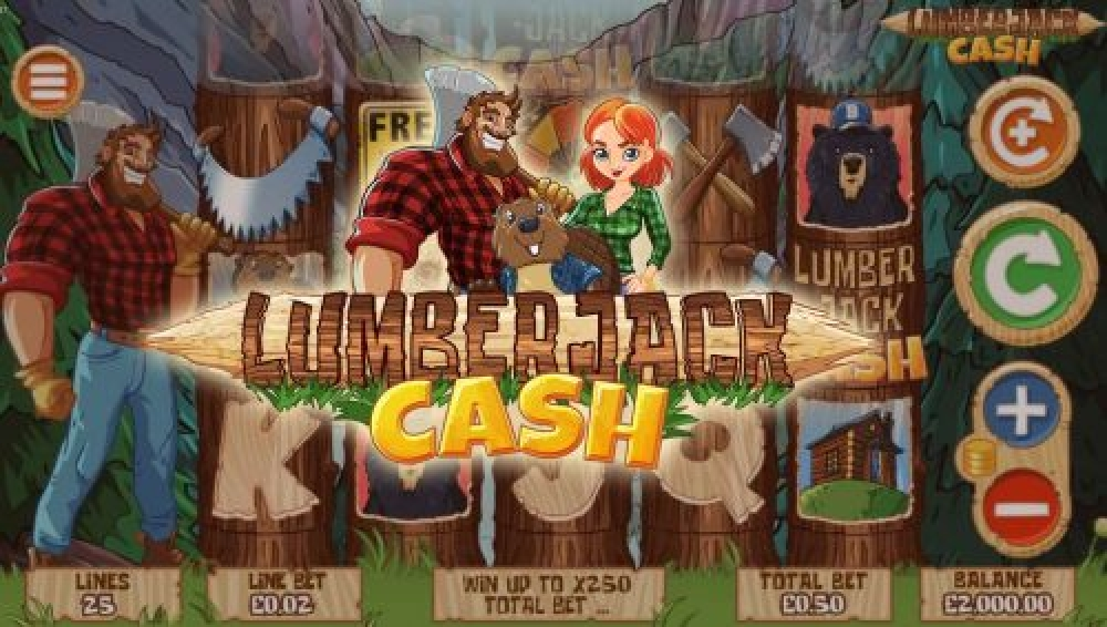 The Lumberjack Cash Online Slot Demo Game by Mutuel Play