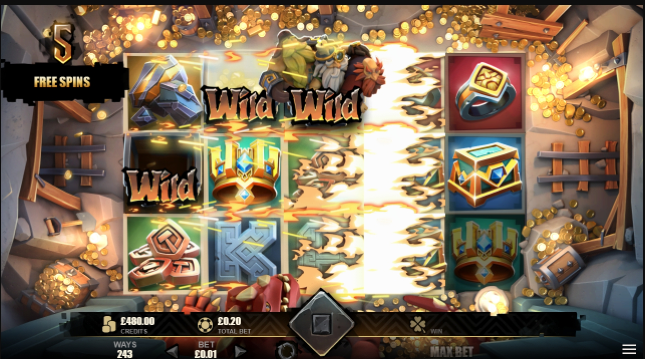 The Multiplier Mine Online Slot Demo Game by Mutuel Play