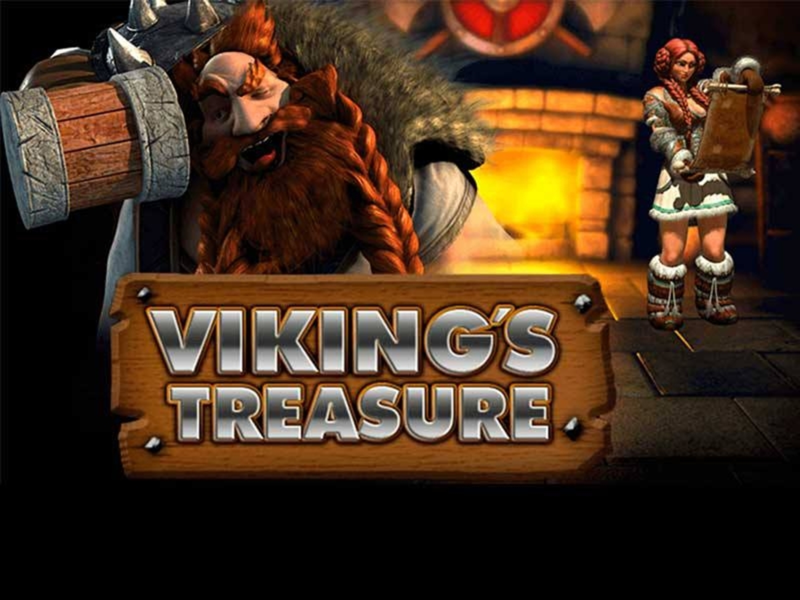 The Vikings Treasure Online Slot Demo Game by NetEnt