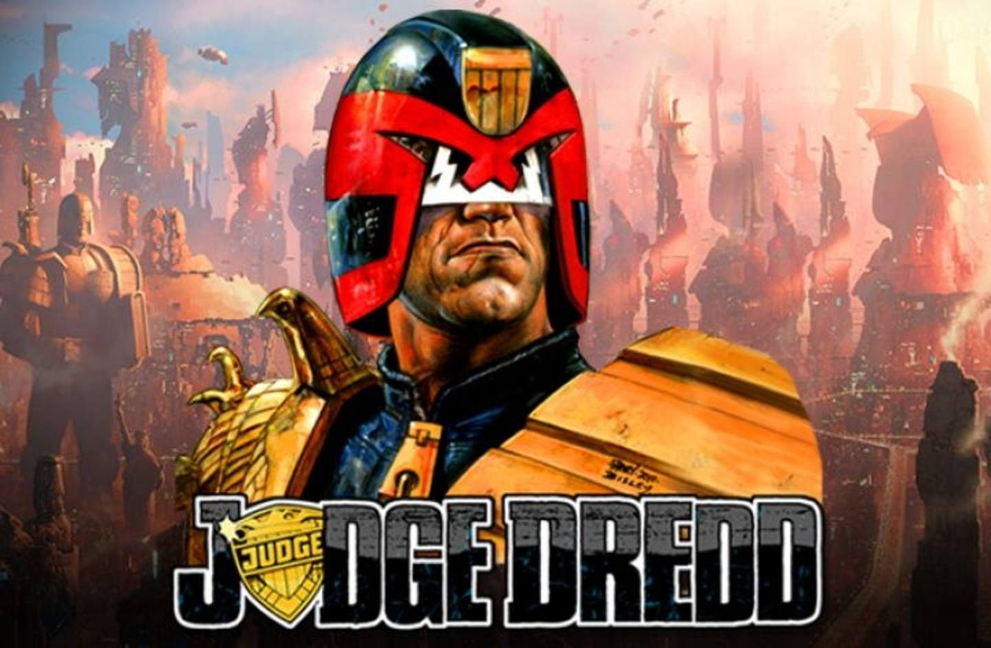 The Judge Dredd Online Slot Demo Game by NextGen