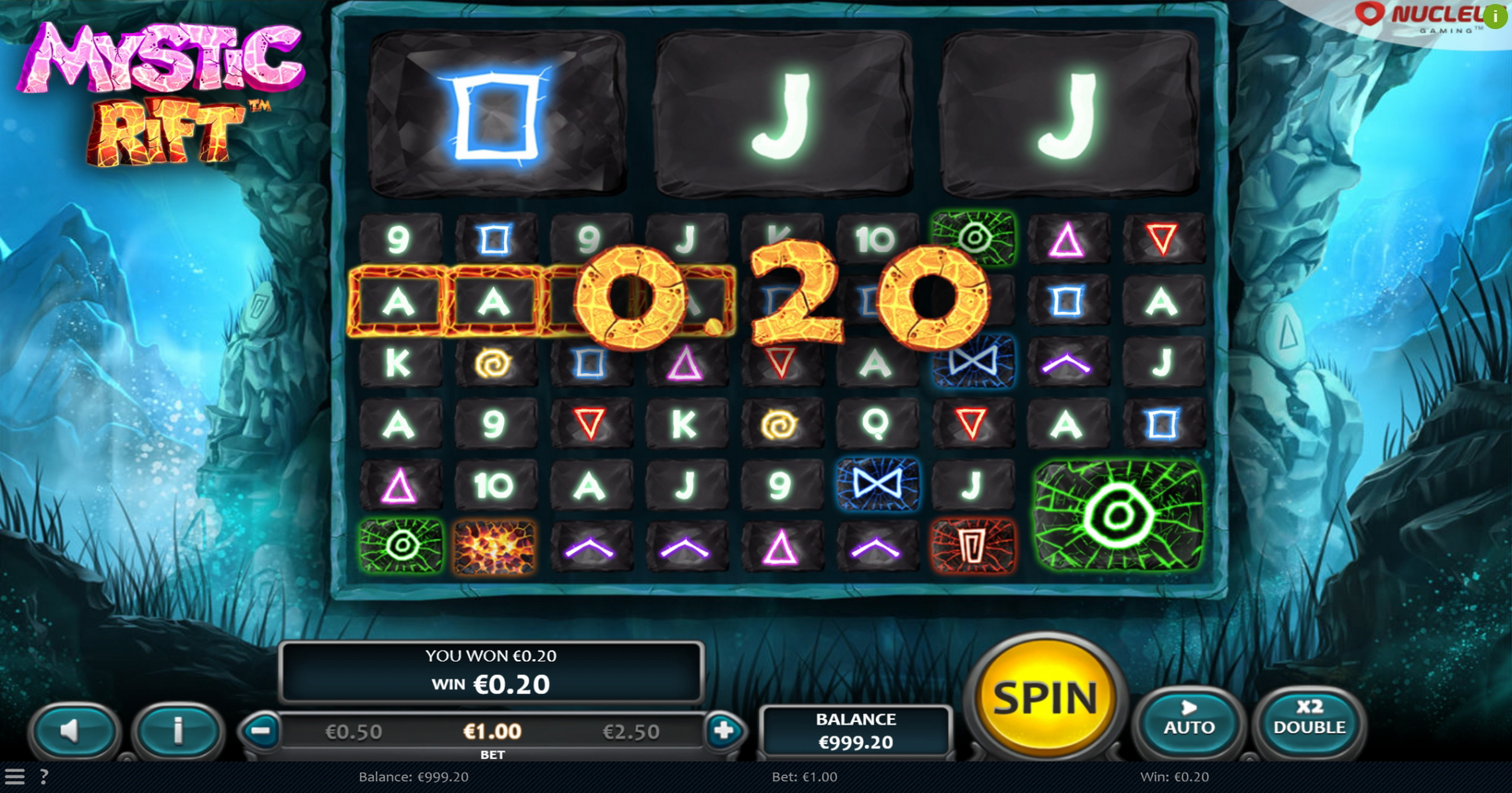 Win Money in Mystic Rift Free Slot Game by Nucleus Gaming