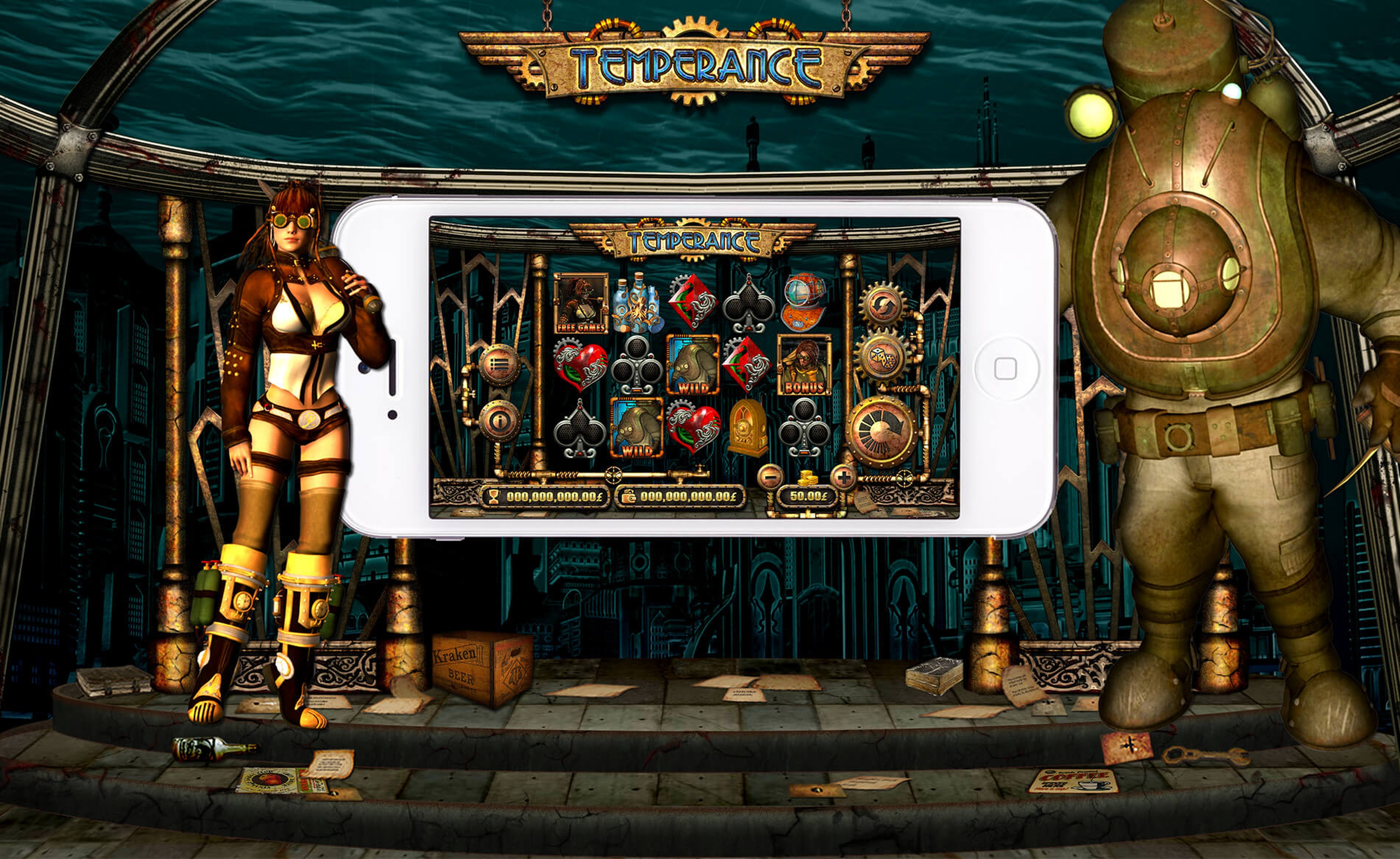 The Temperance Online Slot Demo Game by Old Skool Studios