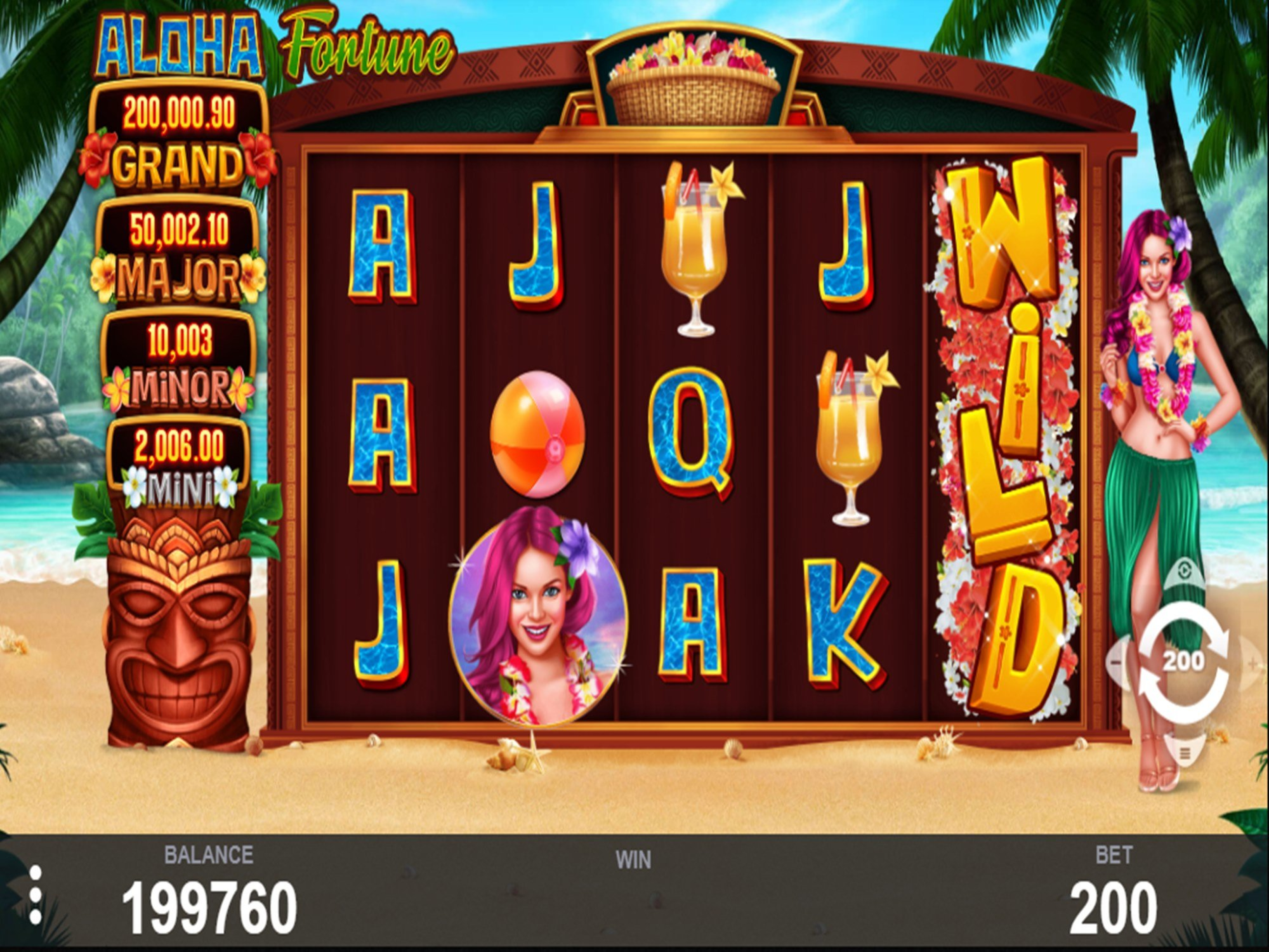 The Aloha Fortune Online Slot Demo Game by PariPlay