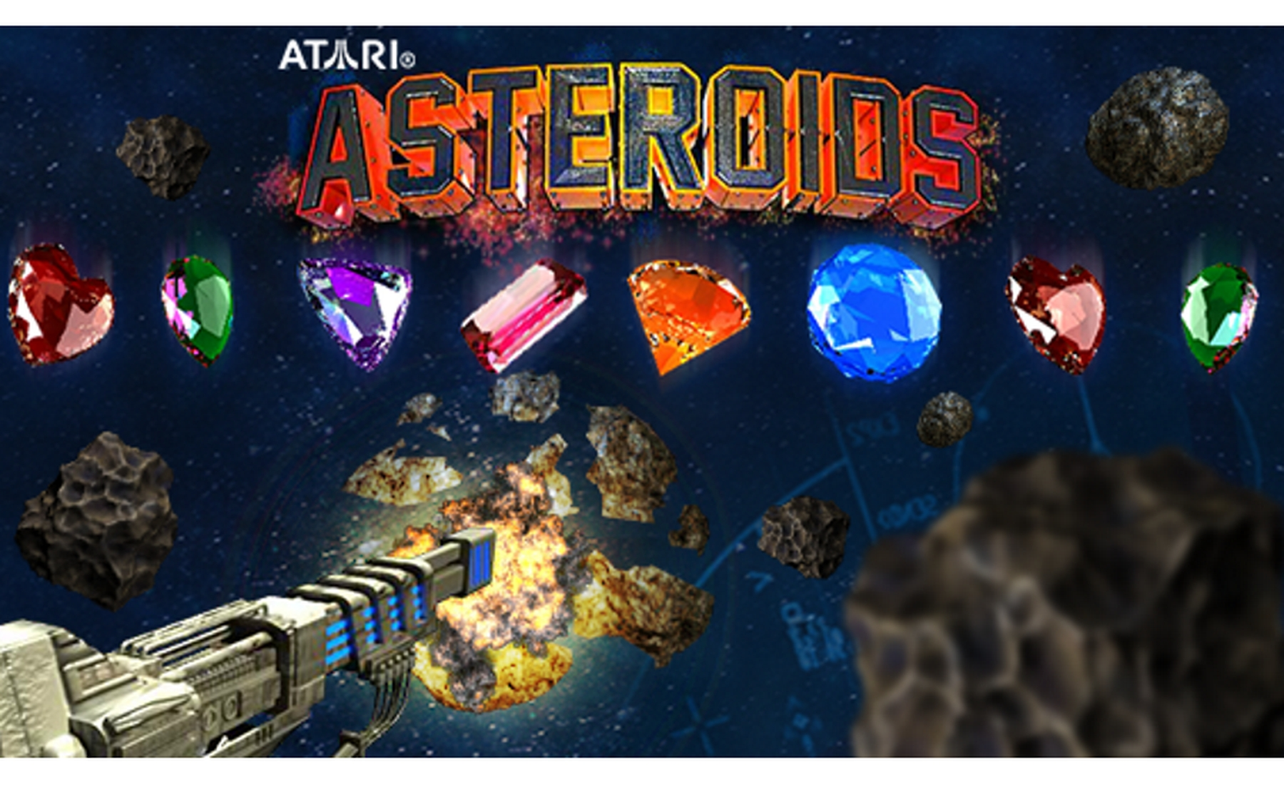 The Asteroids  Online Slot Demo Game by PariPlay