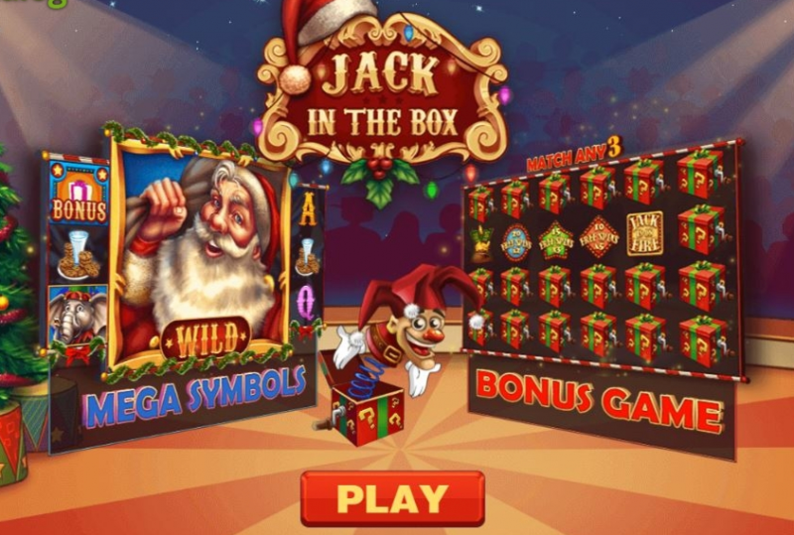 The Jack in the Box Christmas Edition Online Slot Demo Game by PariPlay