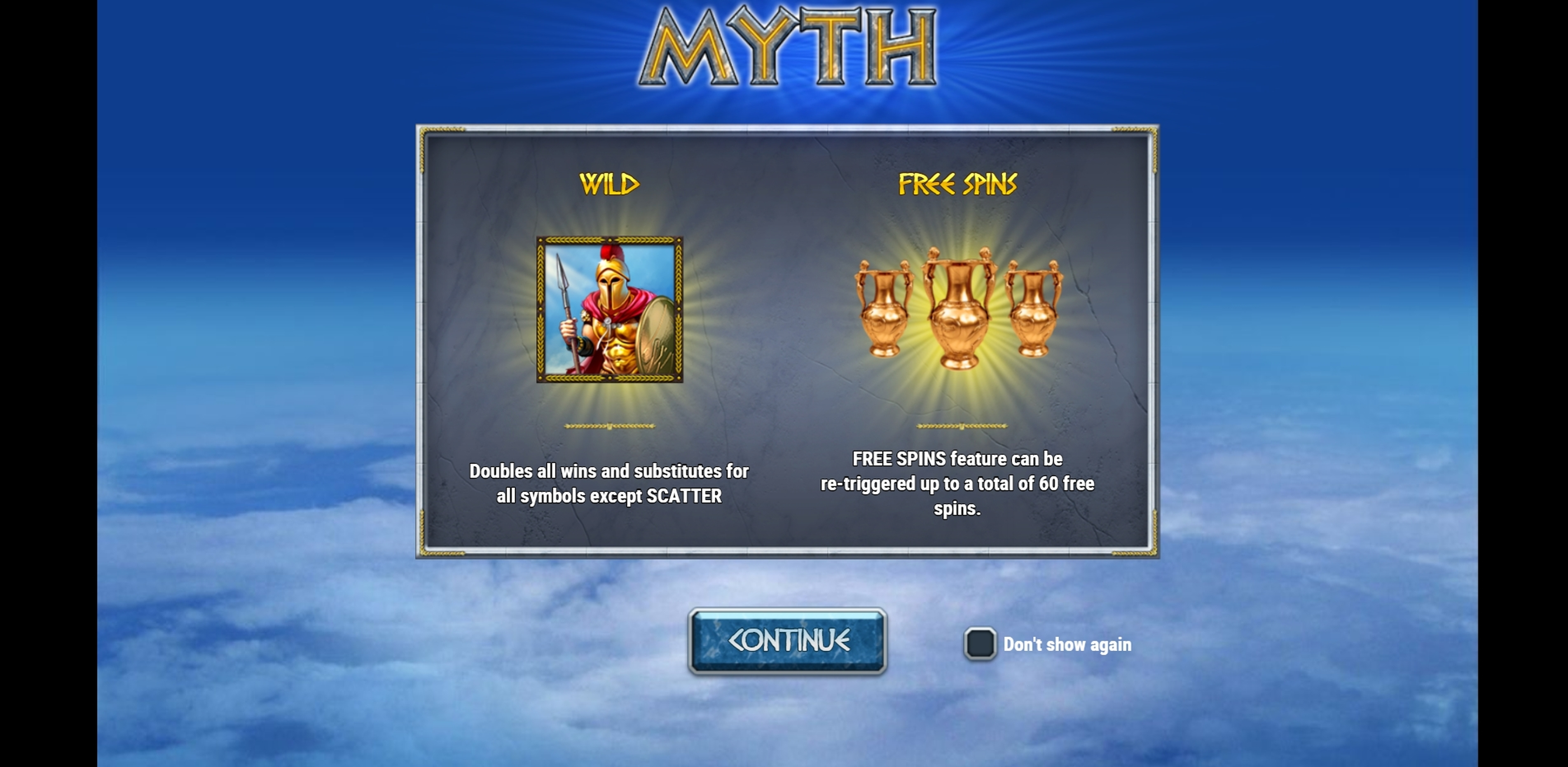 Play Myth Free Casino Slot Game by Playn GO