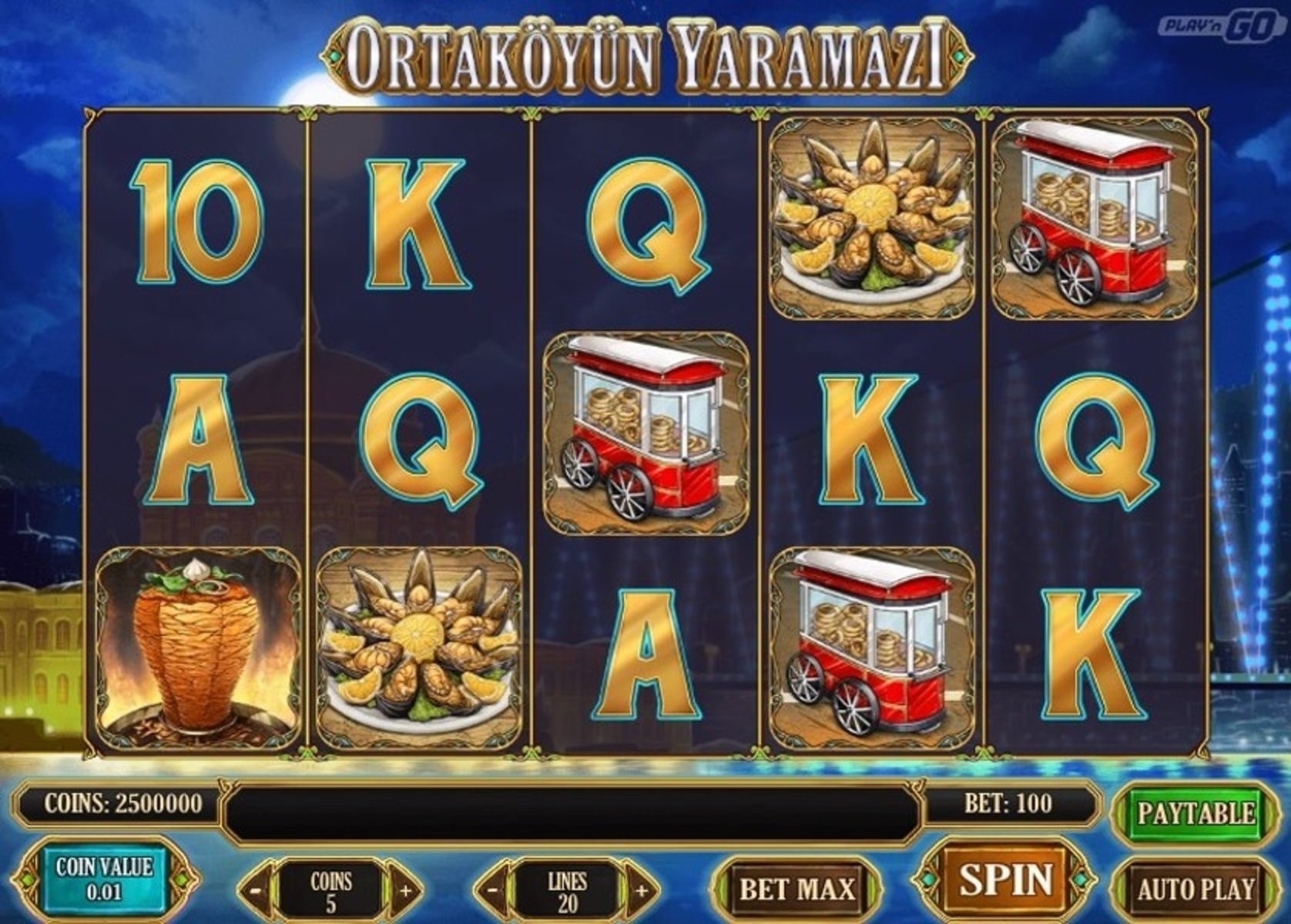 The Ortaköyün Yaramazi Online Slot Demo Game by Playn GO