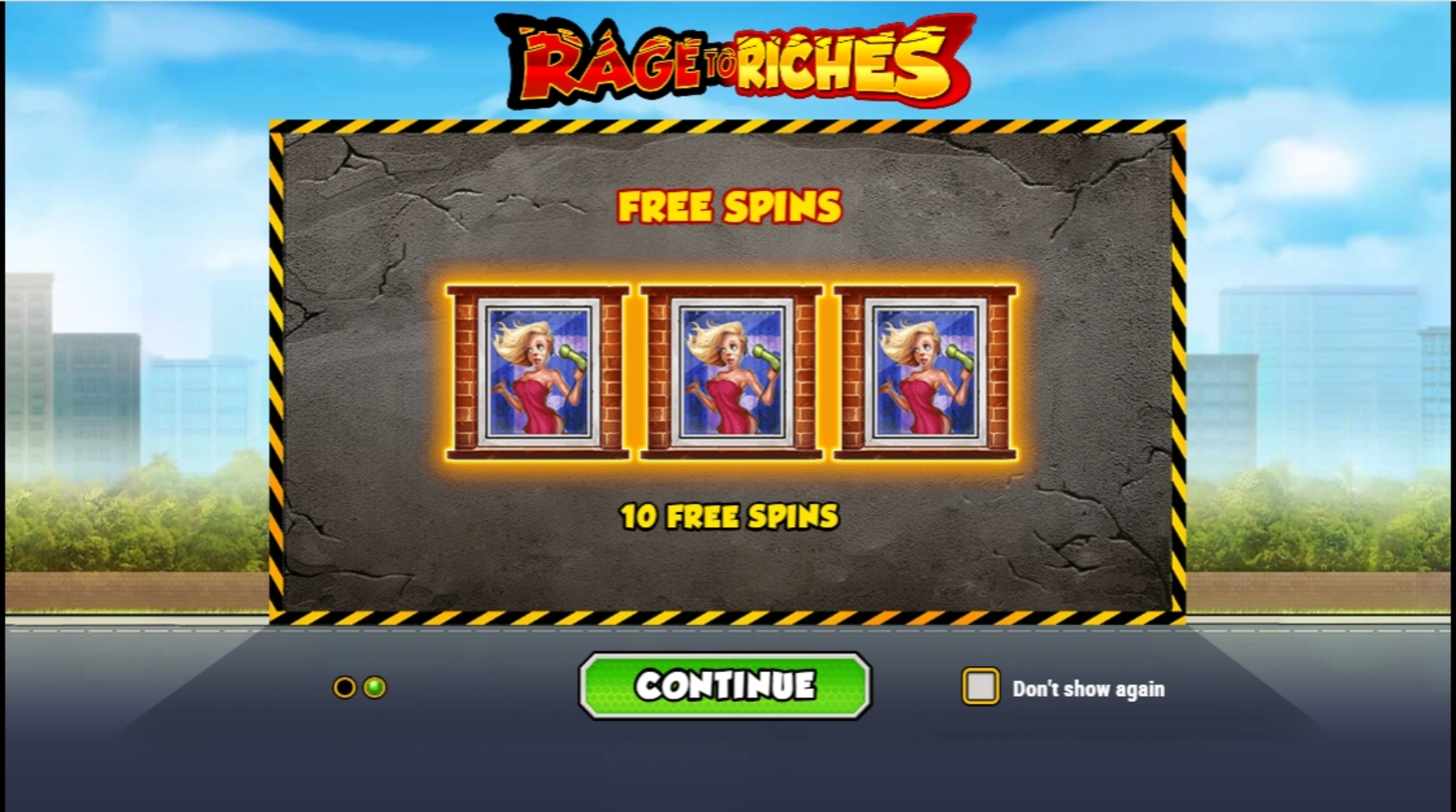 Play Rage to Riches Free Casino Slot Game by Playn GO