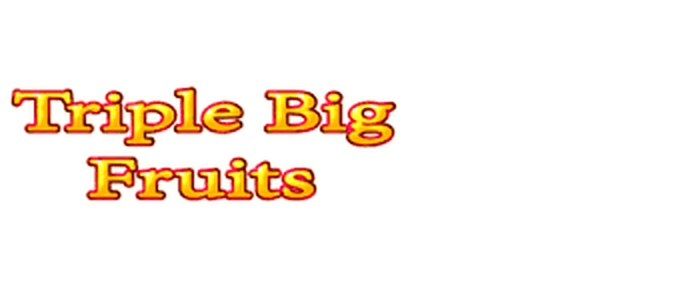 The Triple Big Fruits Online Slot Demo Game by Noble Gaming