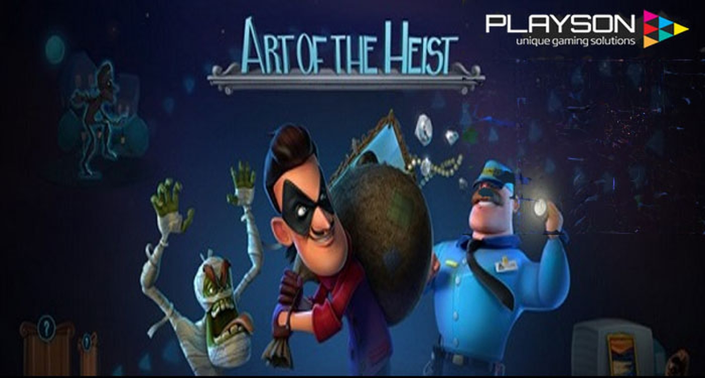 The Art of the Heist Online Slot Demo Game by Playson