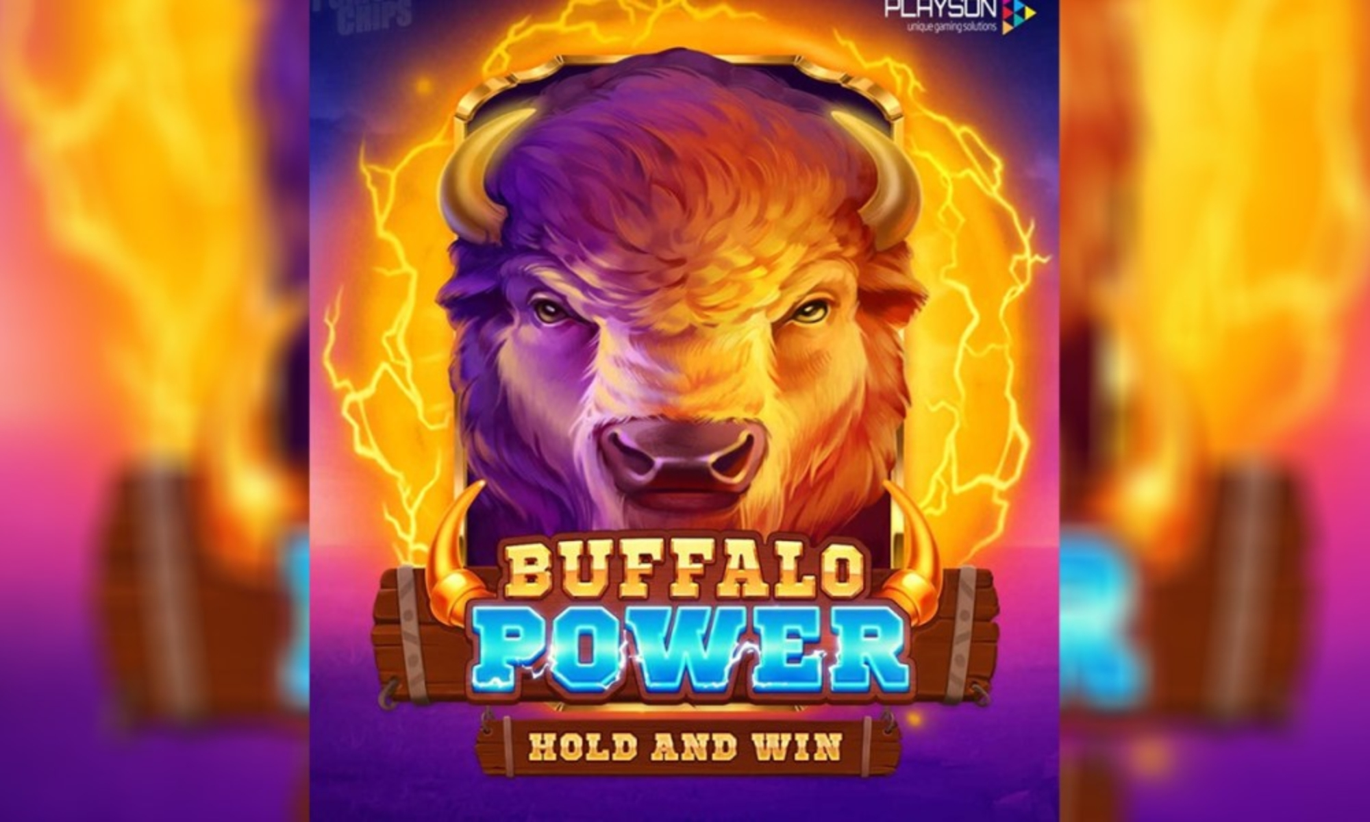 The Buffalo Power Hold and Win Online Slot Demo Game by Playson