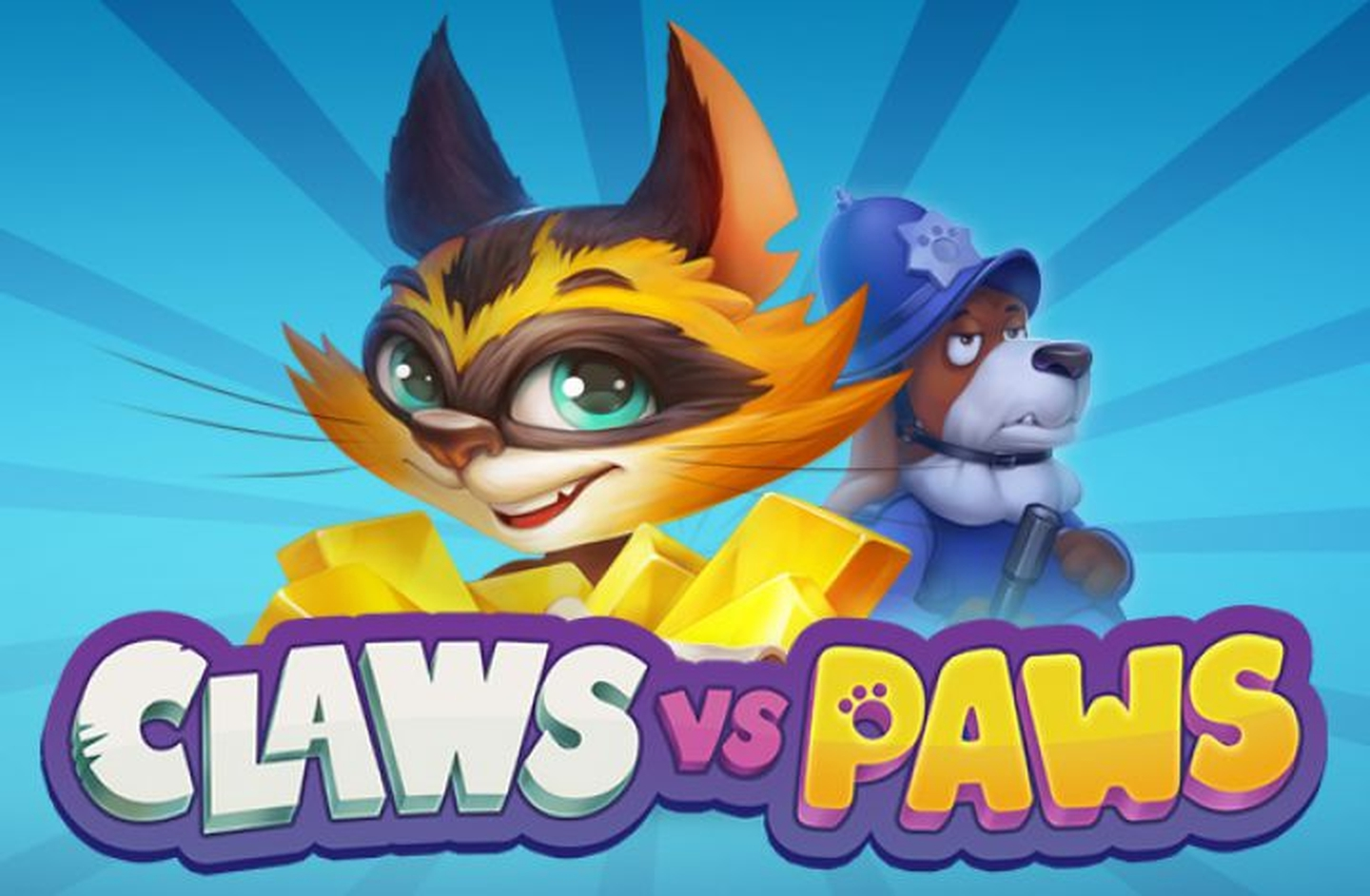 The Claws vs Paws Online Slot Demo Game by Playson