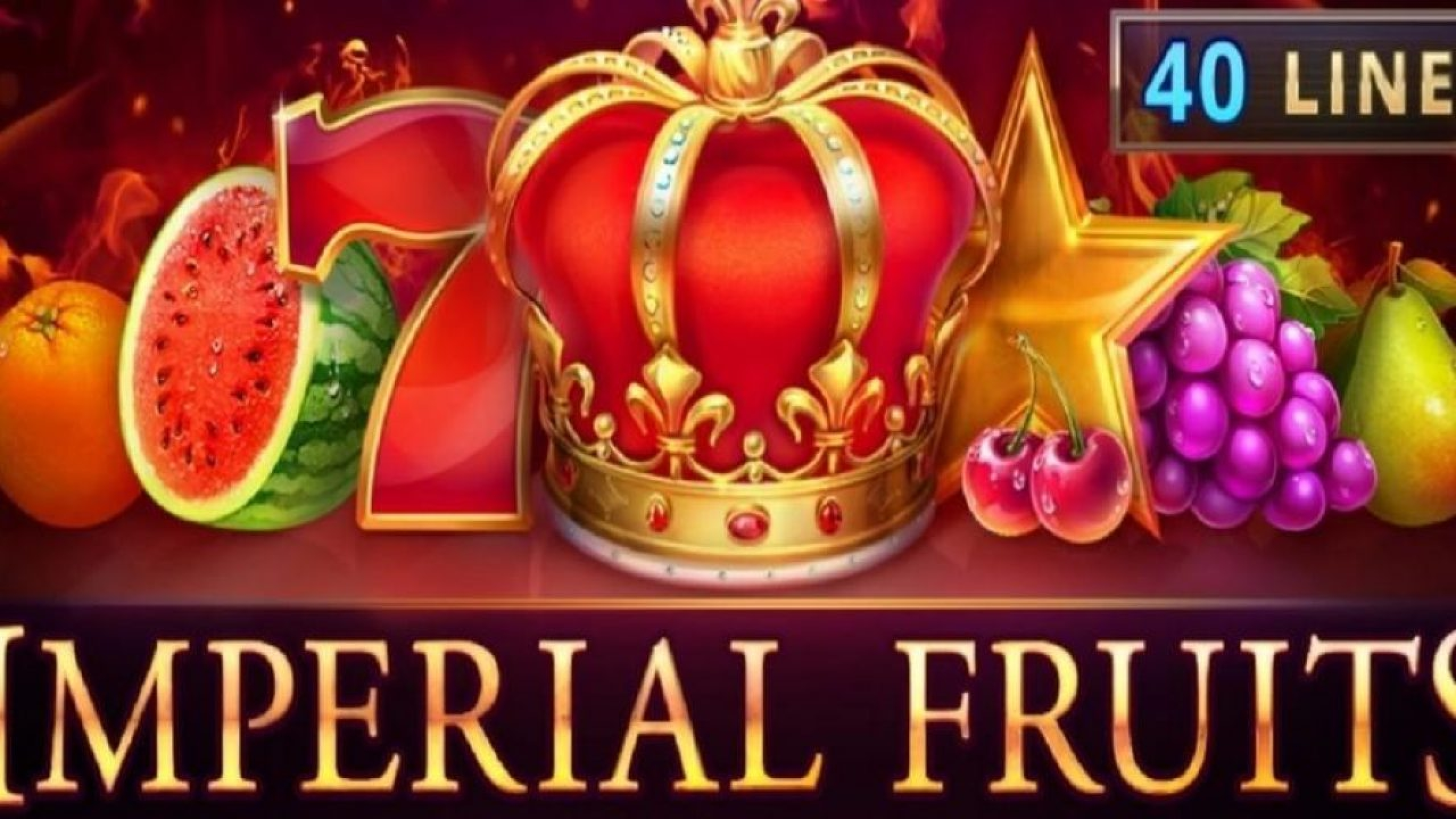 The Imperial Fruits: 40 lines Online Slot Demo Game by Playson