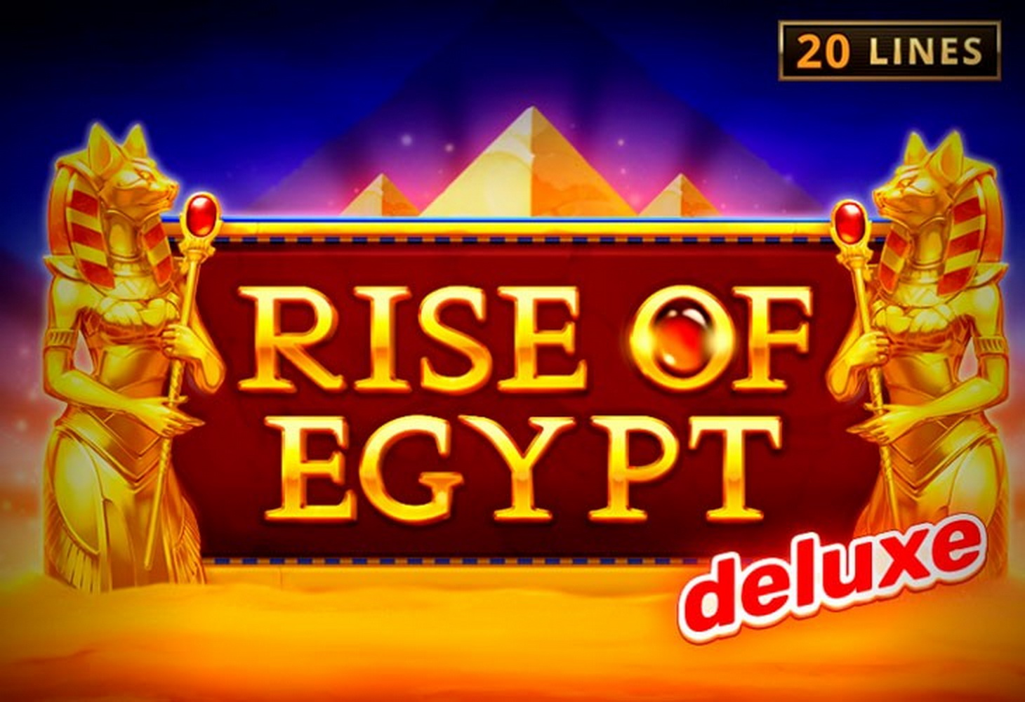 The Rise of Egypt Deluxe Online Slot Demo Game by Playson